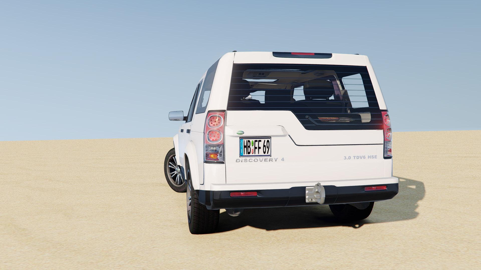 Land Rover Discovery 4 Gta5 Mods Com