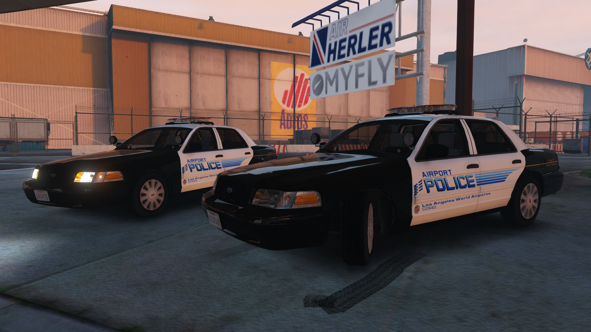 LAPD 2010 Ford Crown Victoria Police Interceptor GTA5 Mods