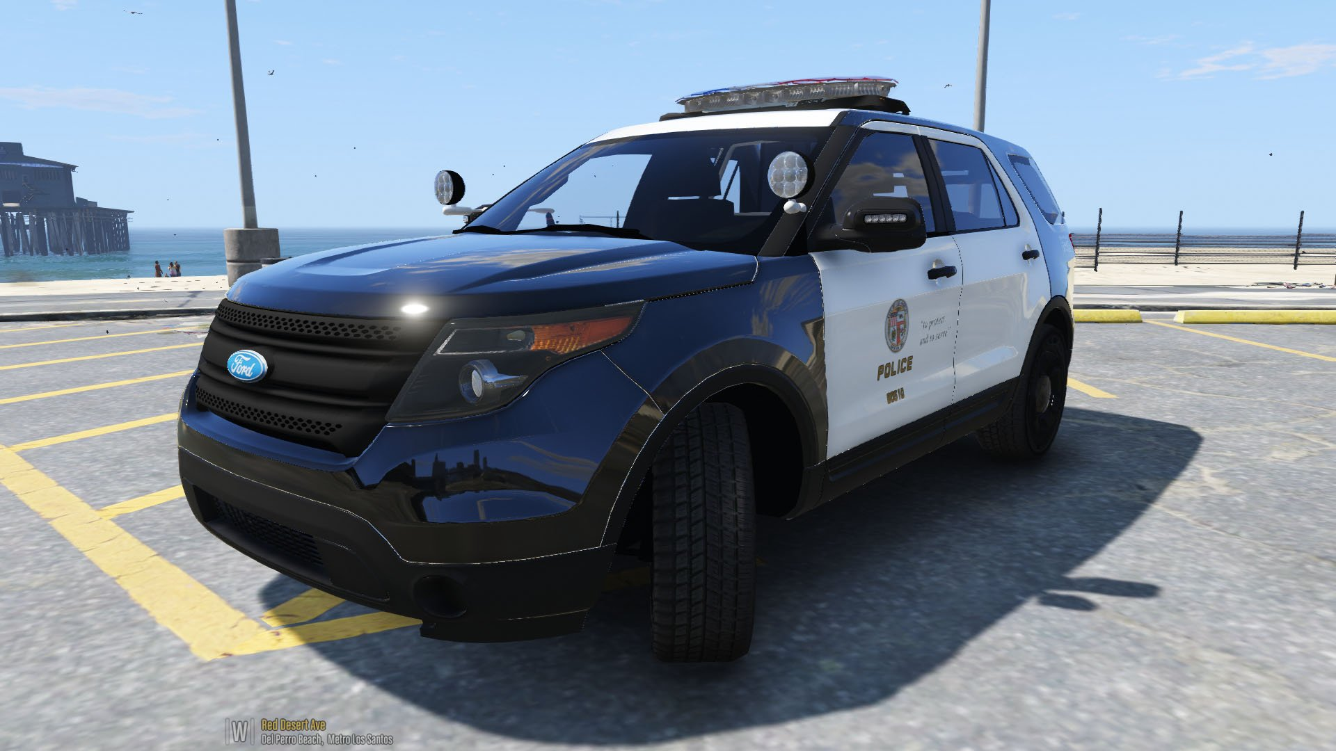 lapd 2014 ford explorer police interceptor utility gta5. Cars Review. Best American Auto & Cars Review