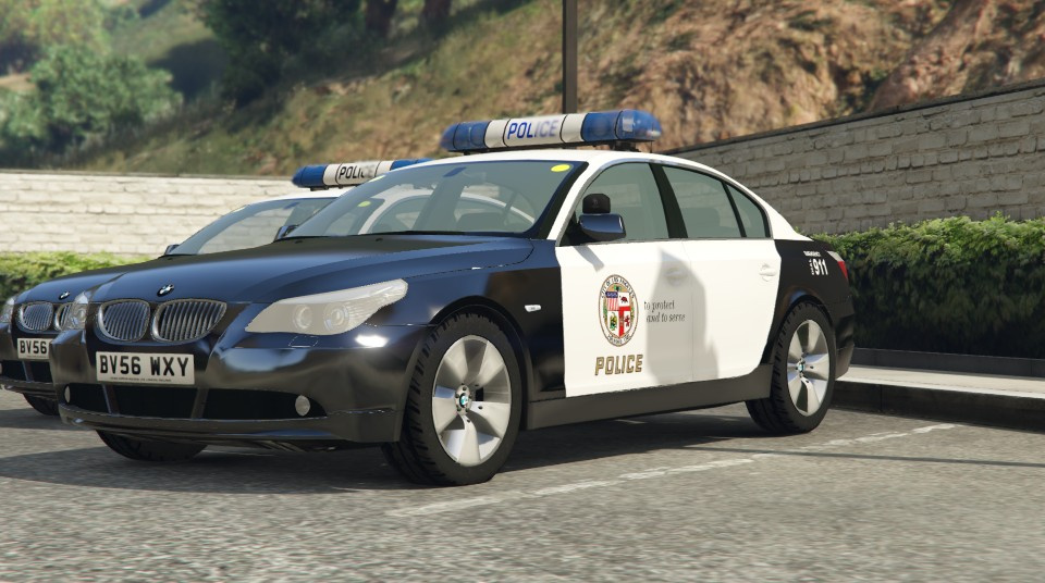 lapd lspd bmw 525d e60 textures gta5. Black Bedroom Furniture Sets. Home Design Ideas