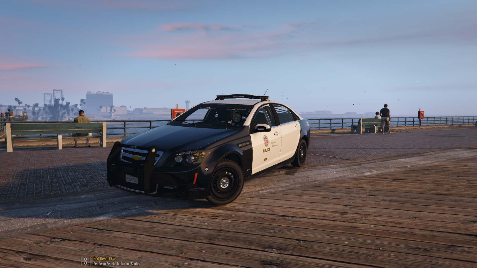 LAPD Skin for Caprice PPV - GTA5-Mods com