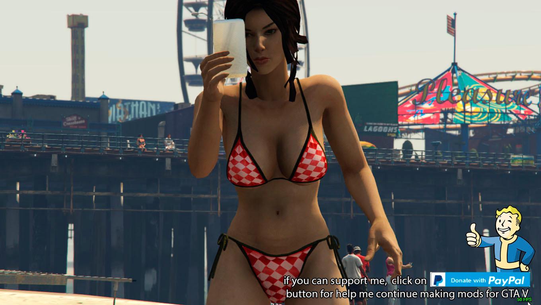 Lora croft bikini
