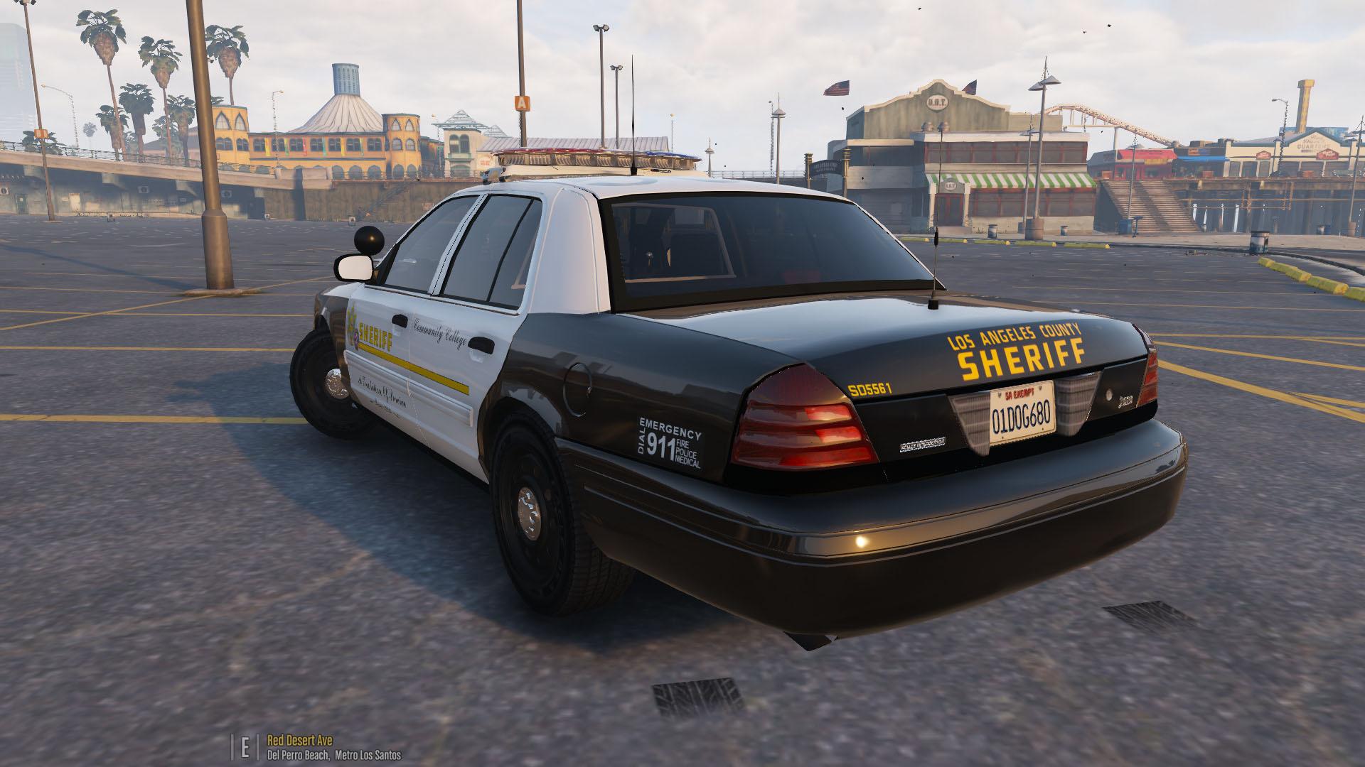 Lasd 2011 Crown Victoria Police Interceptor