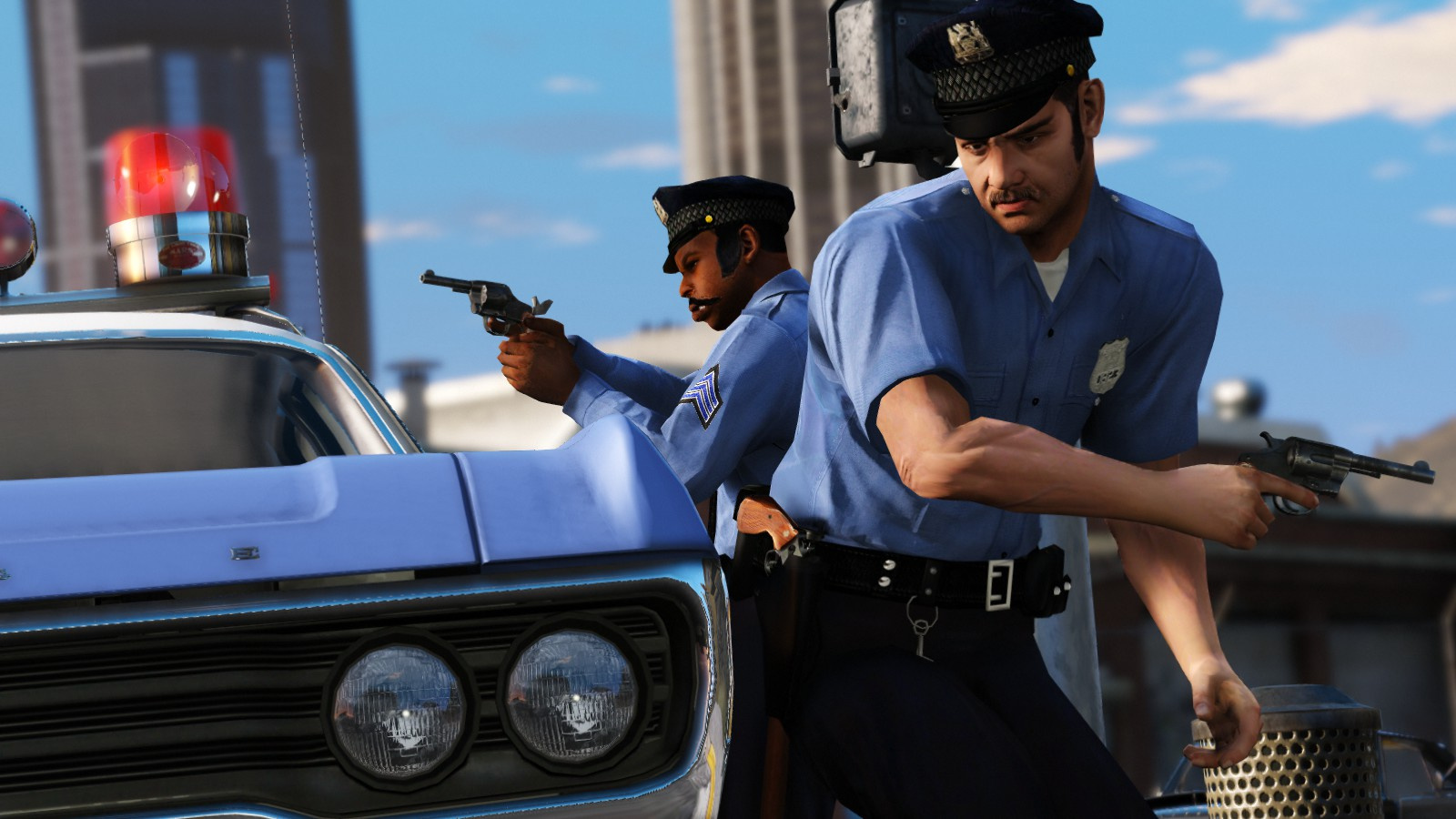 LCPD / NYPD officers 70s - GTA5-Mods com