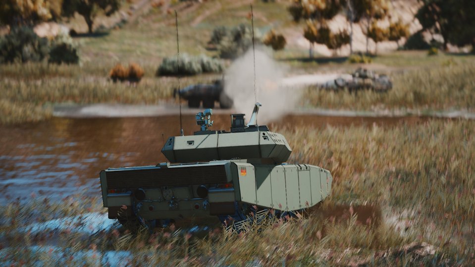 5a44f3c1075f Leopard 2A7+ MBT  Add-On