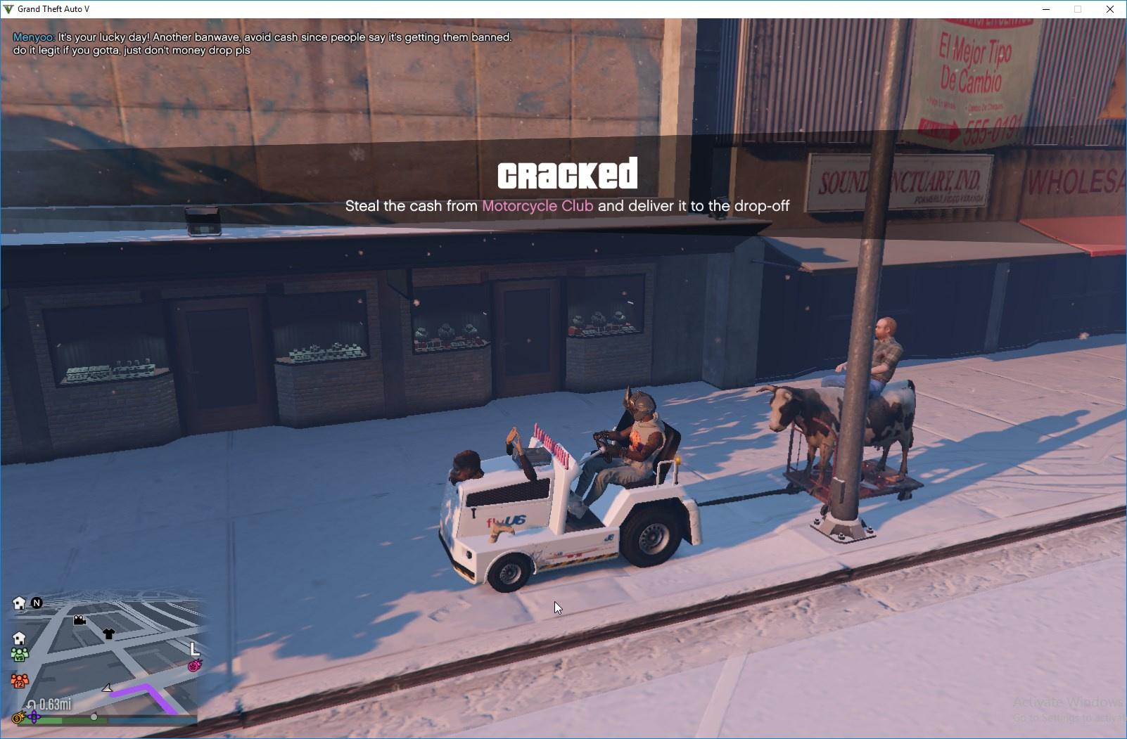 Lester's CowCar [Menyoo] - GTA5-Mods com
