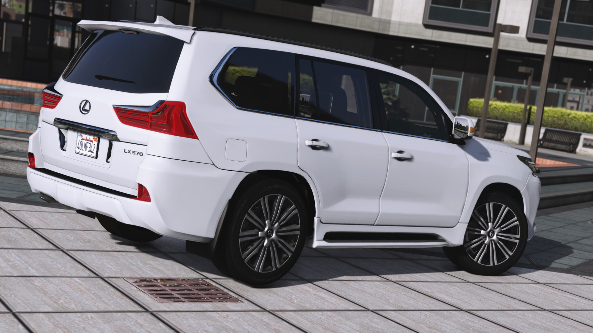 2016 Lexus Lx 570 Add On Replace Gta5 Mods Com