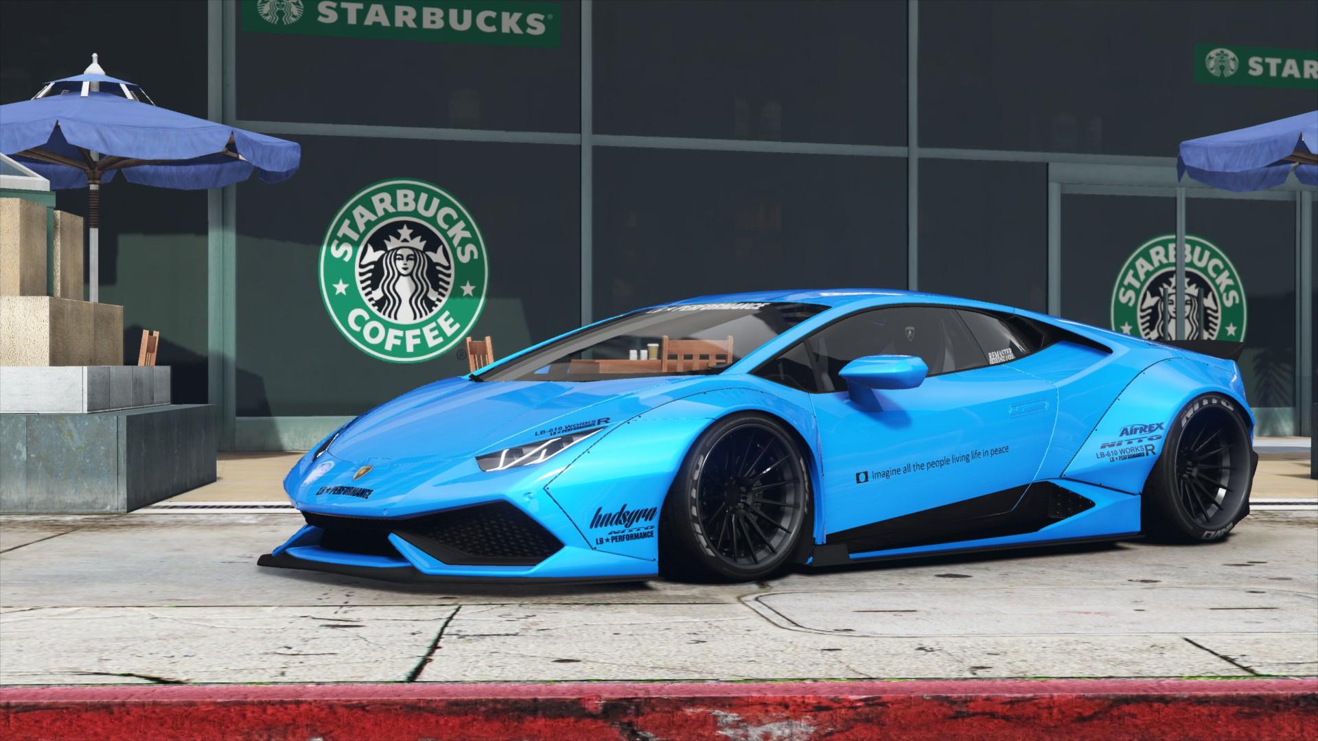 Liberty Walk Lamborghini Huracan Lp610 4 Gta5 Mods Com