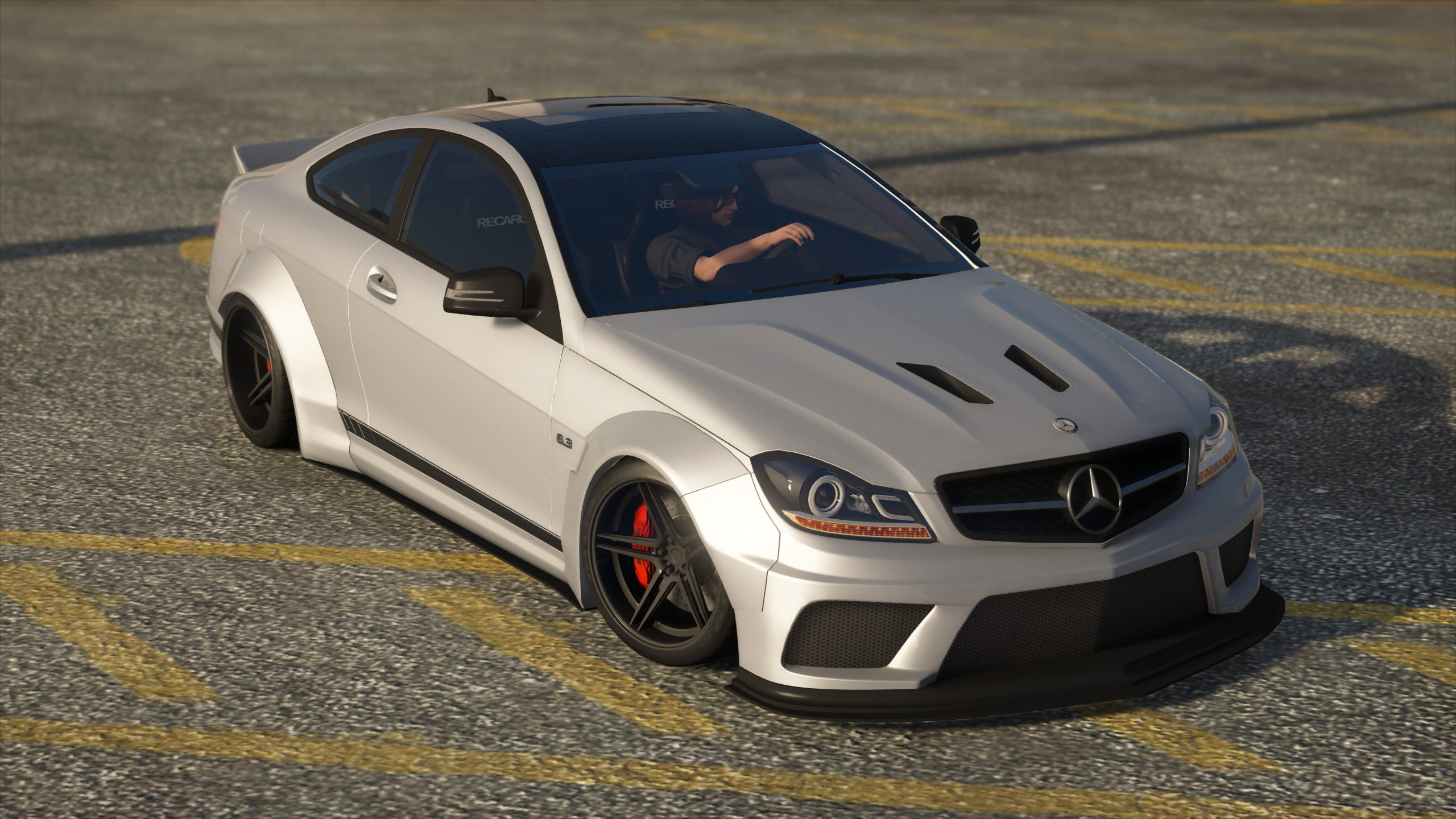 Liberty Walk Mercedes Benz C63 Amg Add On Template Gta5 Mods Com