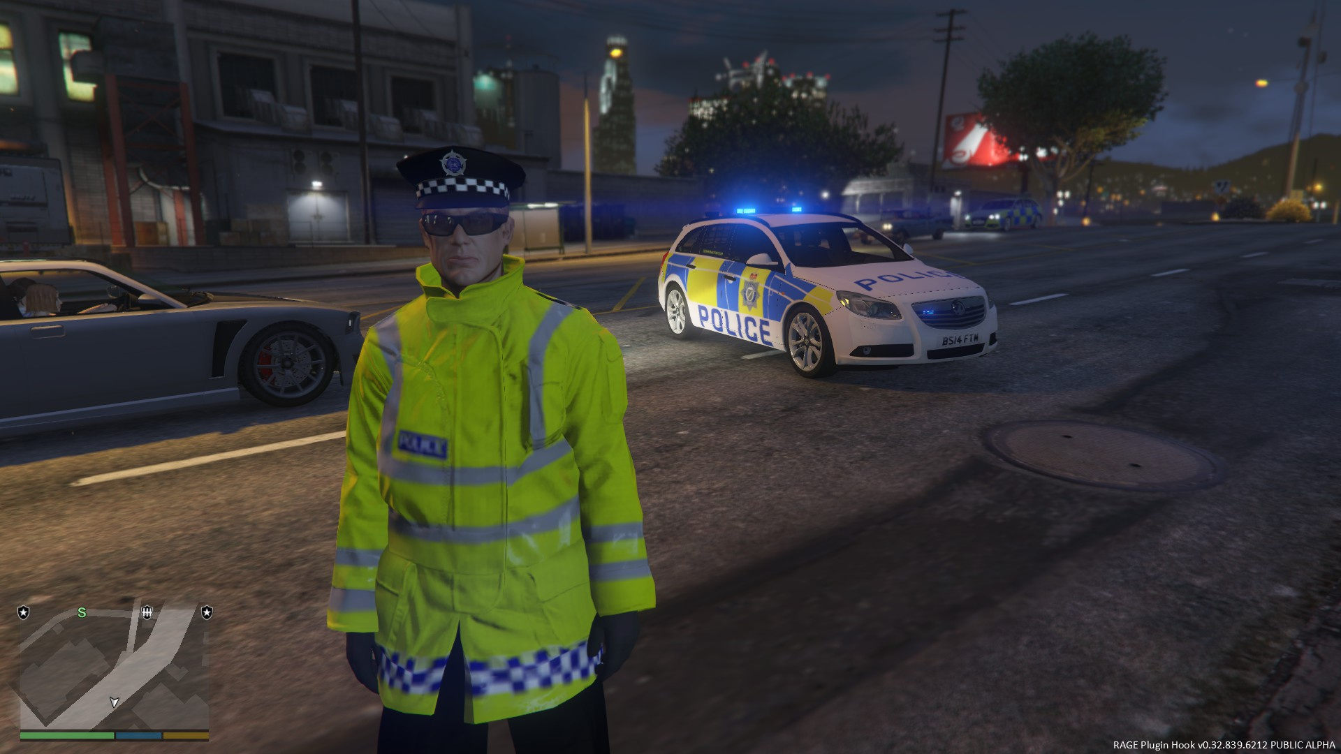 lincolnshire police vauxhall insignia estate uk british police gta5. Black Bedroom Furniture Sets. Home Design Ideas