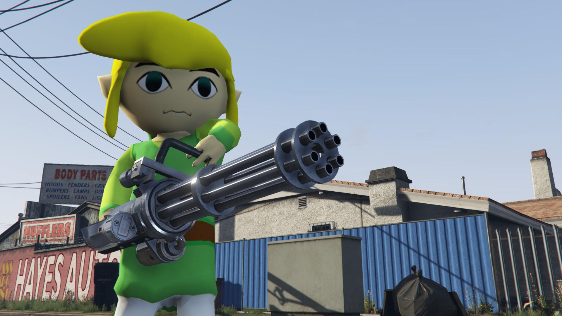 Link (Wind Waker) - GTA5-Mods com