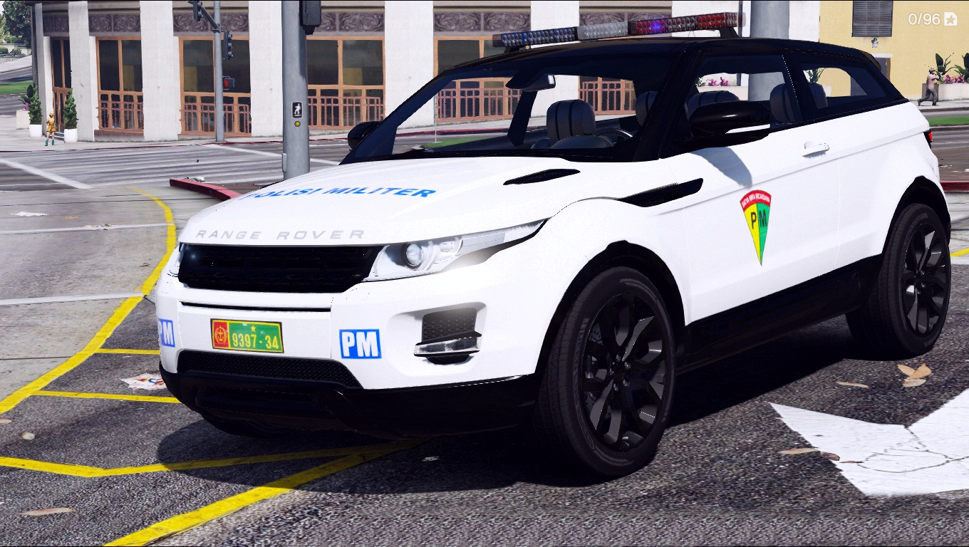 indonesian police military livery for range rover evoque. Black Bedroom Furniture Sets. Home Design Ideas