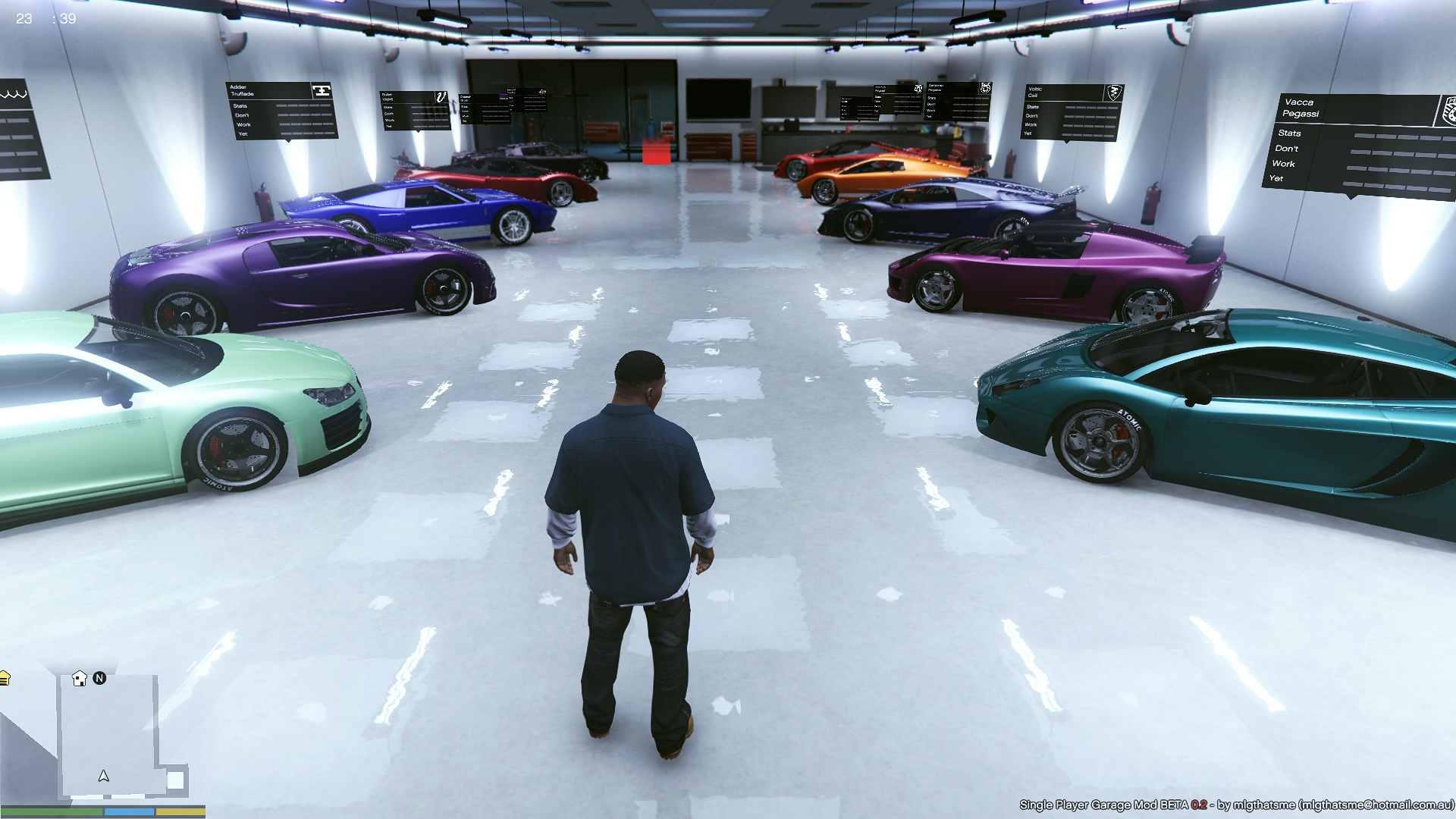 2 loaded single player garages spg gta5 for 5 car garage