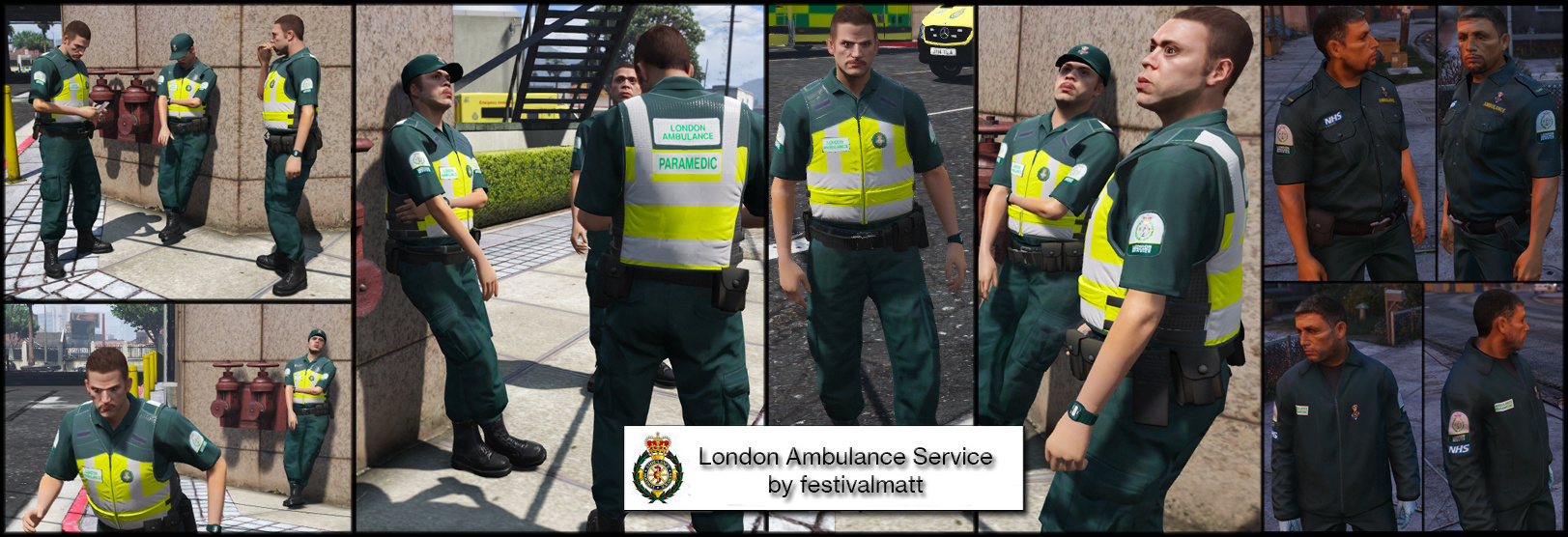 London paramedic uniform