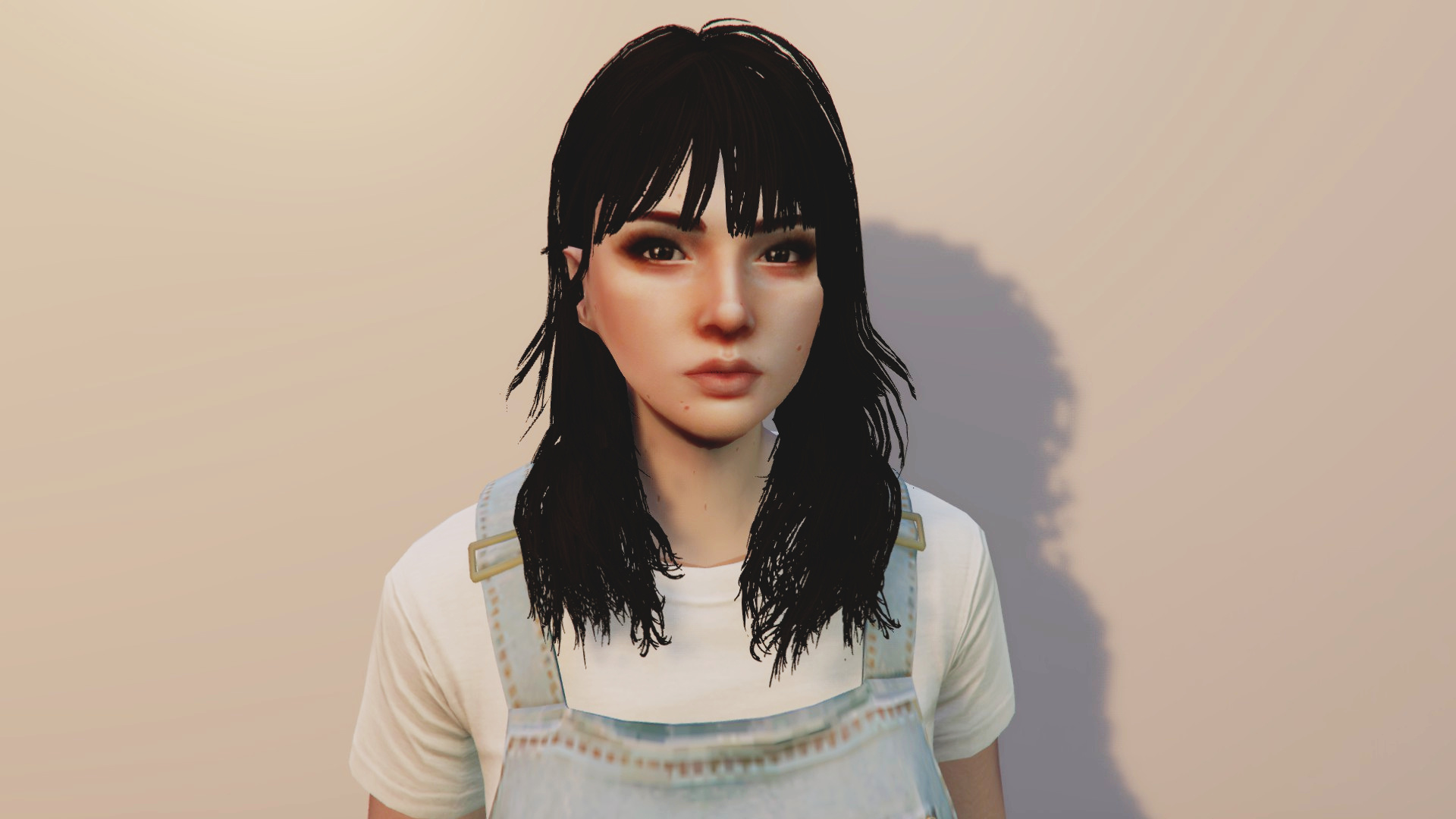 Long Haircut With Bangs For MP Female - GTA5-Mods.com