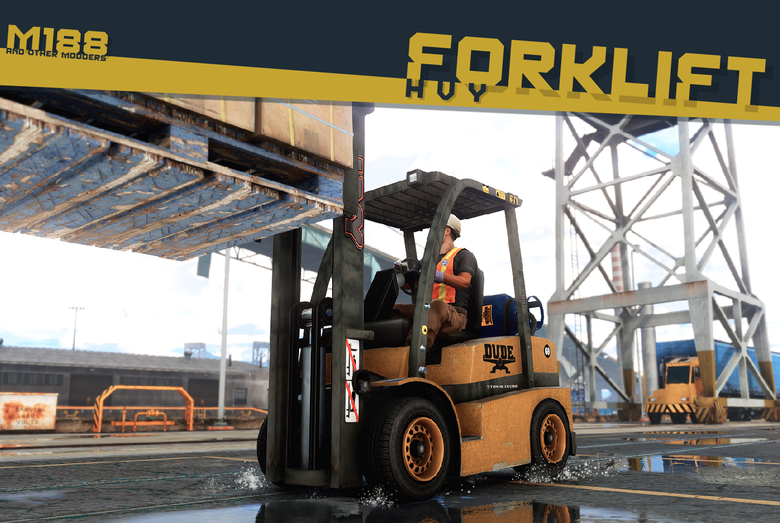 Lore-Friendly Liveries for HVY Forklift