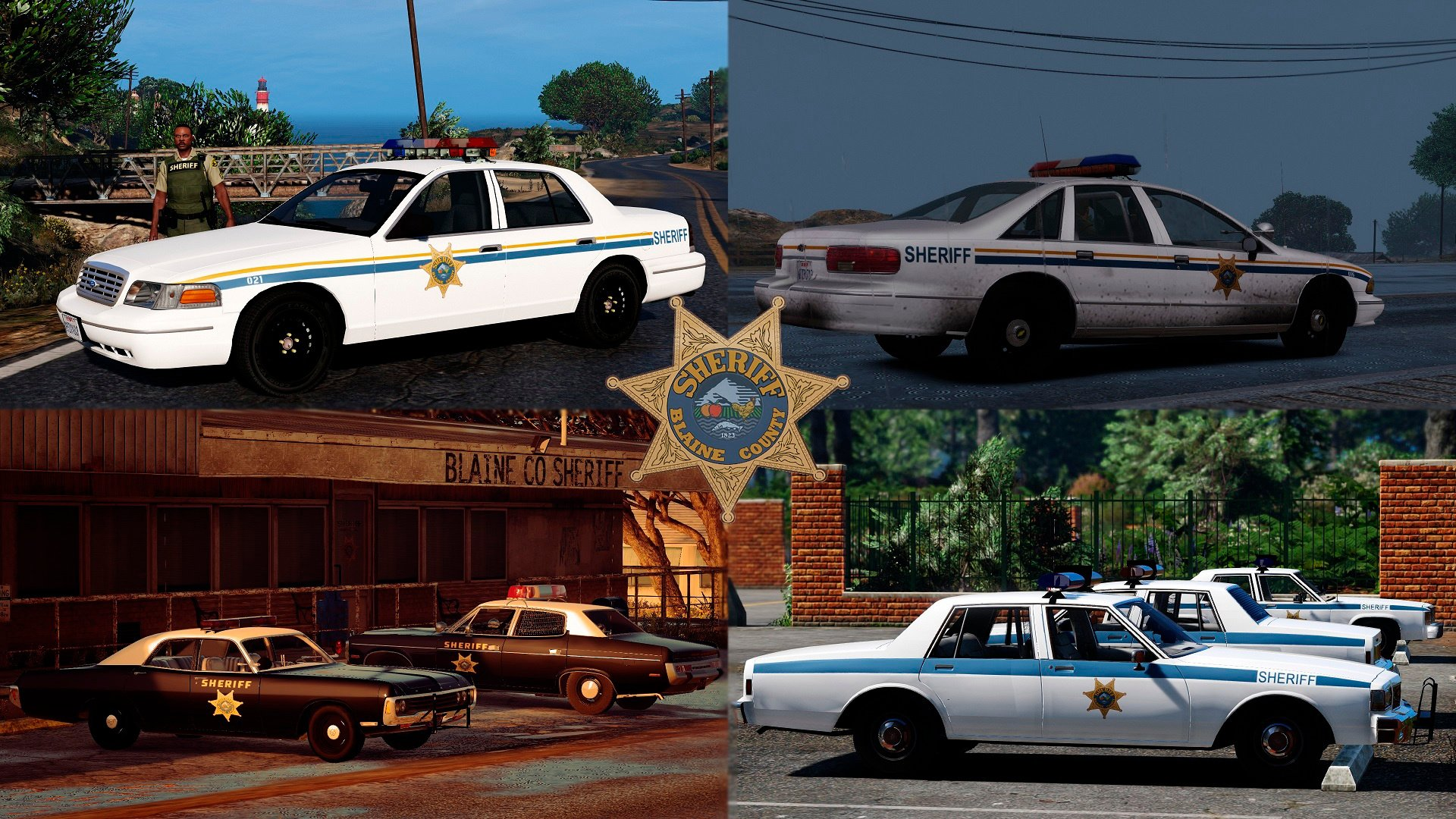 Lore Friendly Retro Emergency Vehicles Pack Gta5 Modscom 1980 Ford Crown Victoria Taxi Ca83af Bcso October