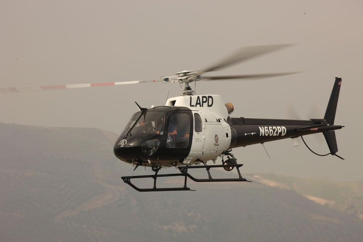 AS-350 Ecureuil LAPD [Replace] - GTA5-Mods com