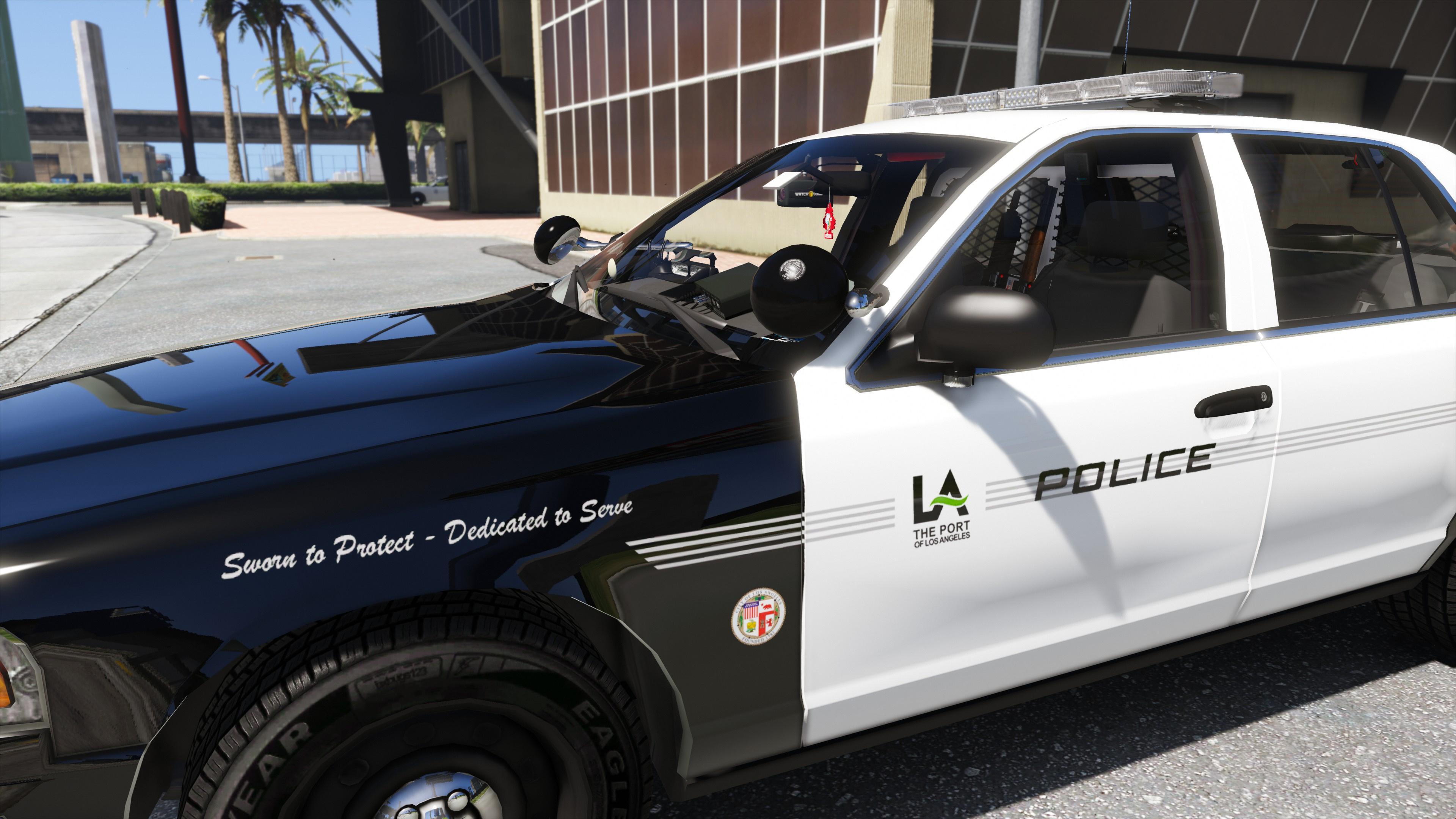 Los angeles port police lapp texture pack 4k gta5 for La port police
