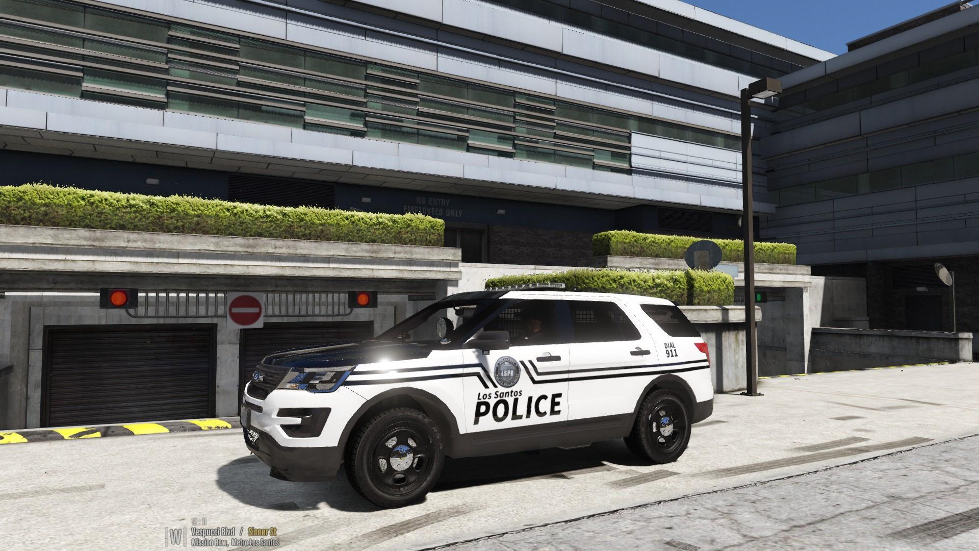 los santos police department gta5. Black Bedroom Furniture Sets. Home Design Ideas
