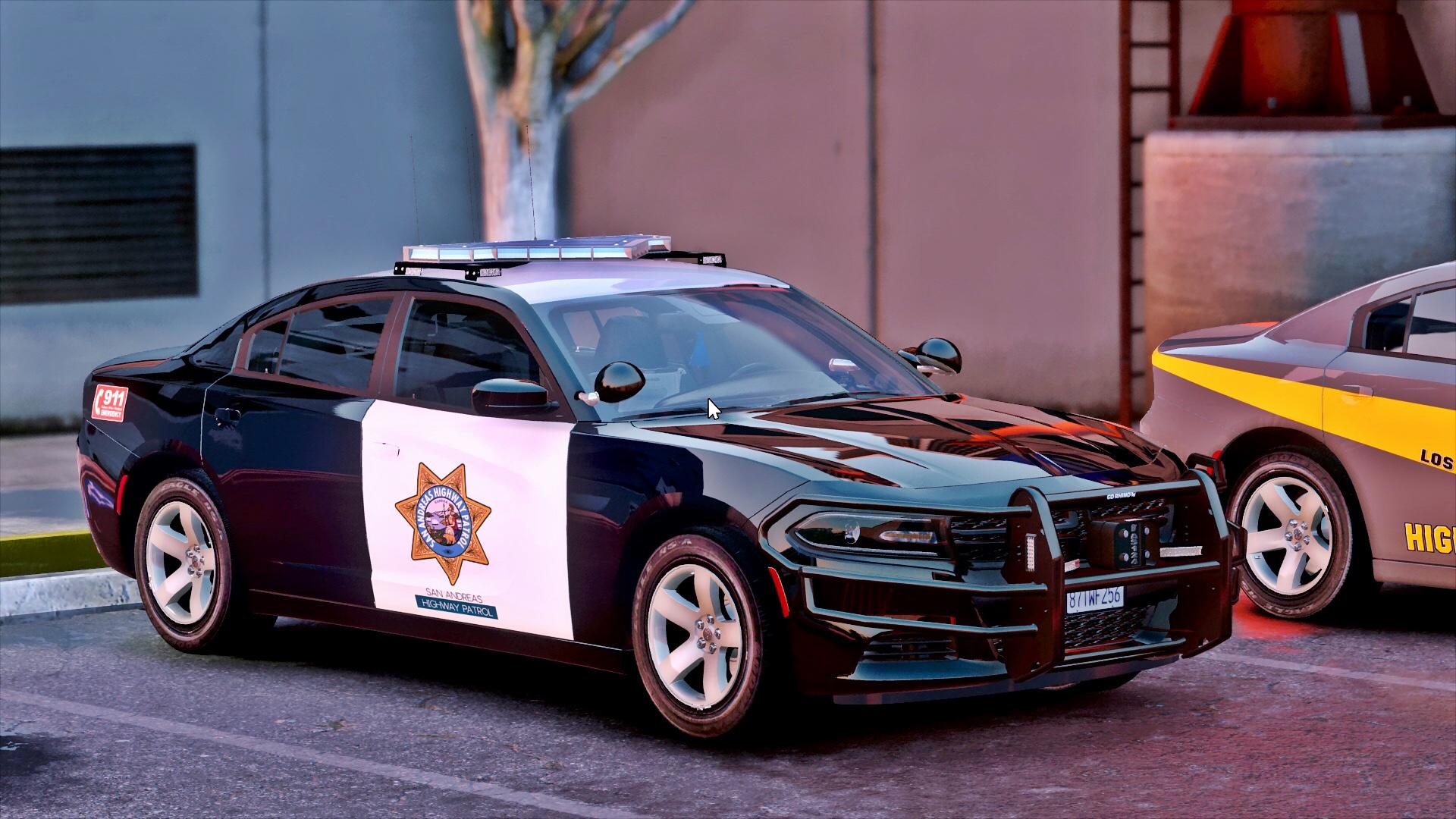 Los Santos Police Highway Patrol Charger [ELS] - GTA5-Mods.com