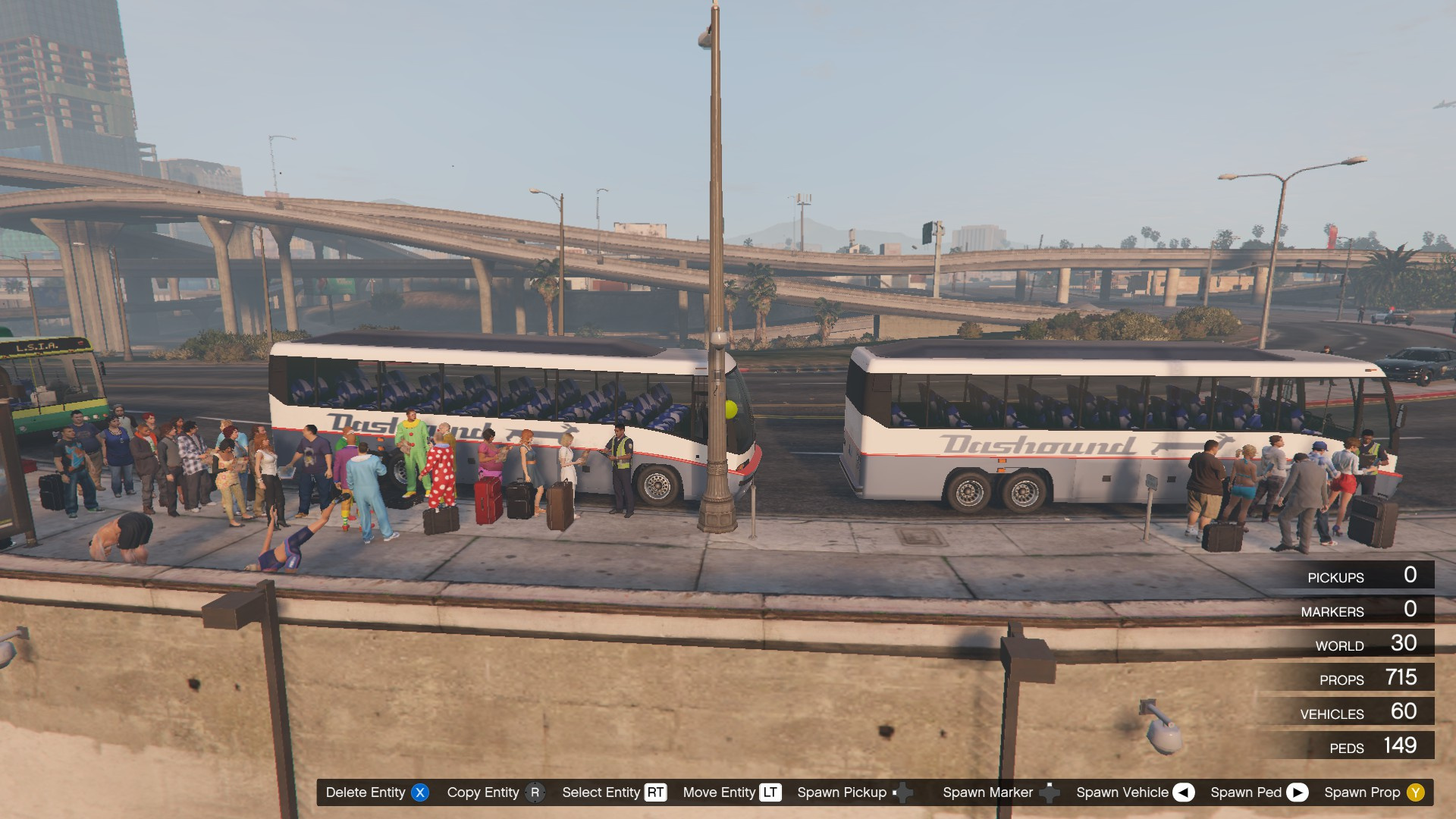 Los Santos Transit - Amtrak Station (Little Seoul) - GTA5 ...