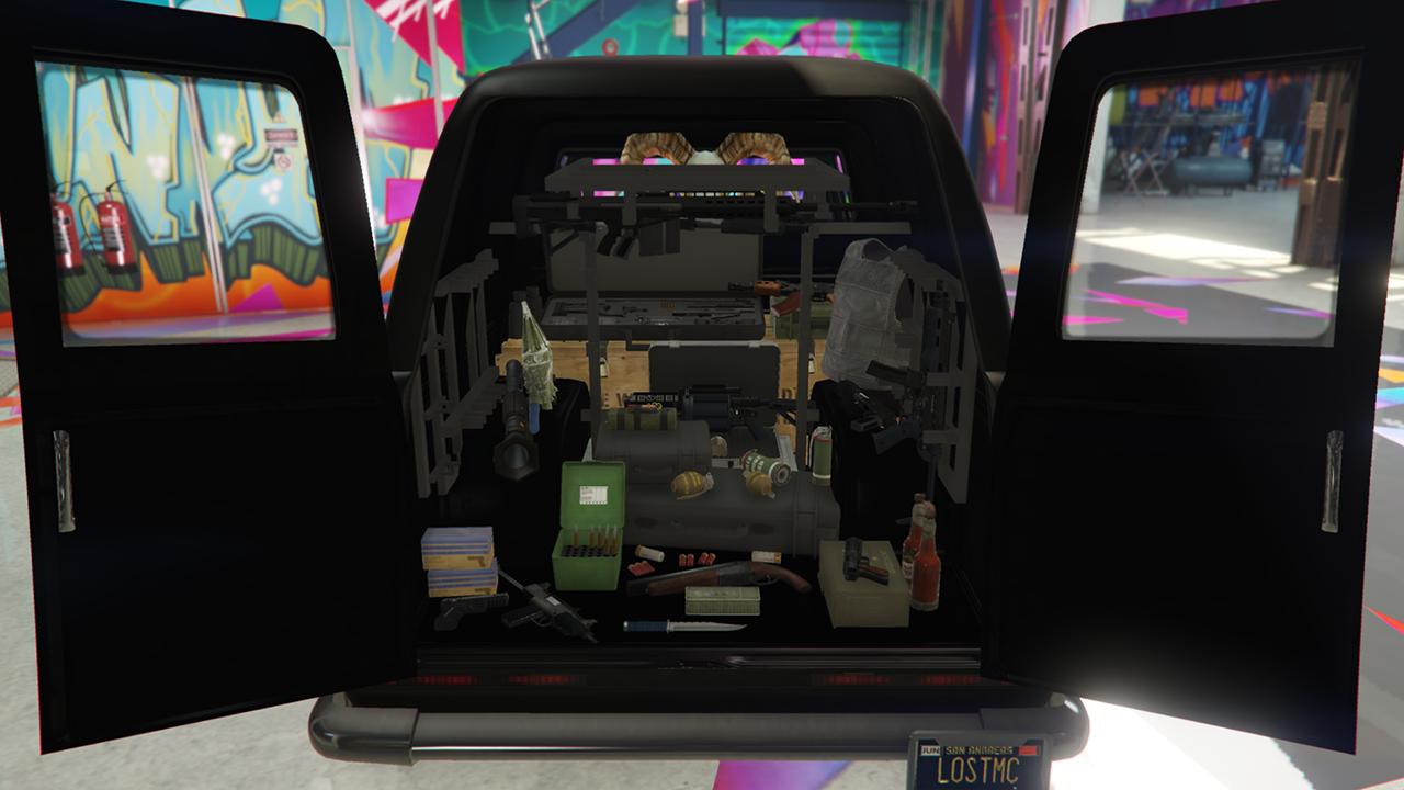 Lost MC Gunvan Menyoo  GTA5Modscom
