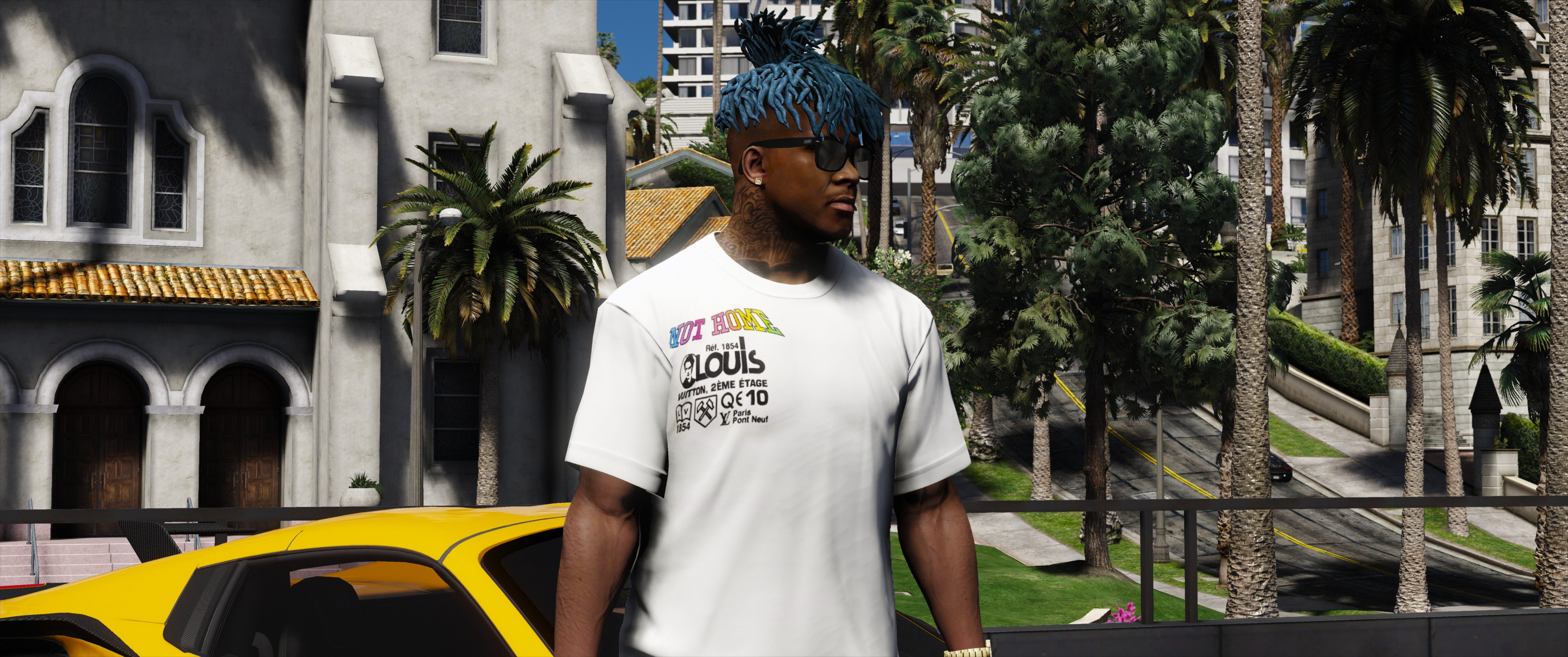 67f244f759 Louis Vuitton KANSAS WINDS t-shirt - GTA5-Mods.com