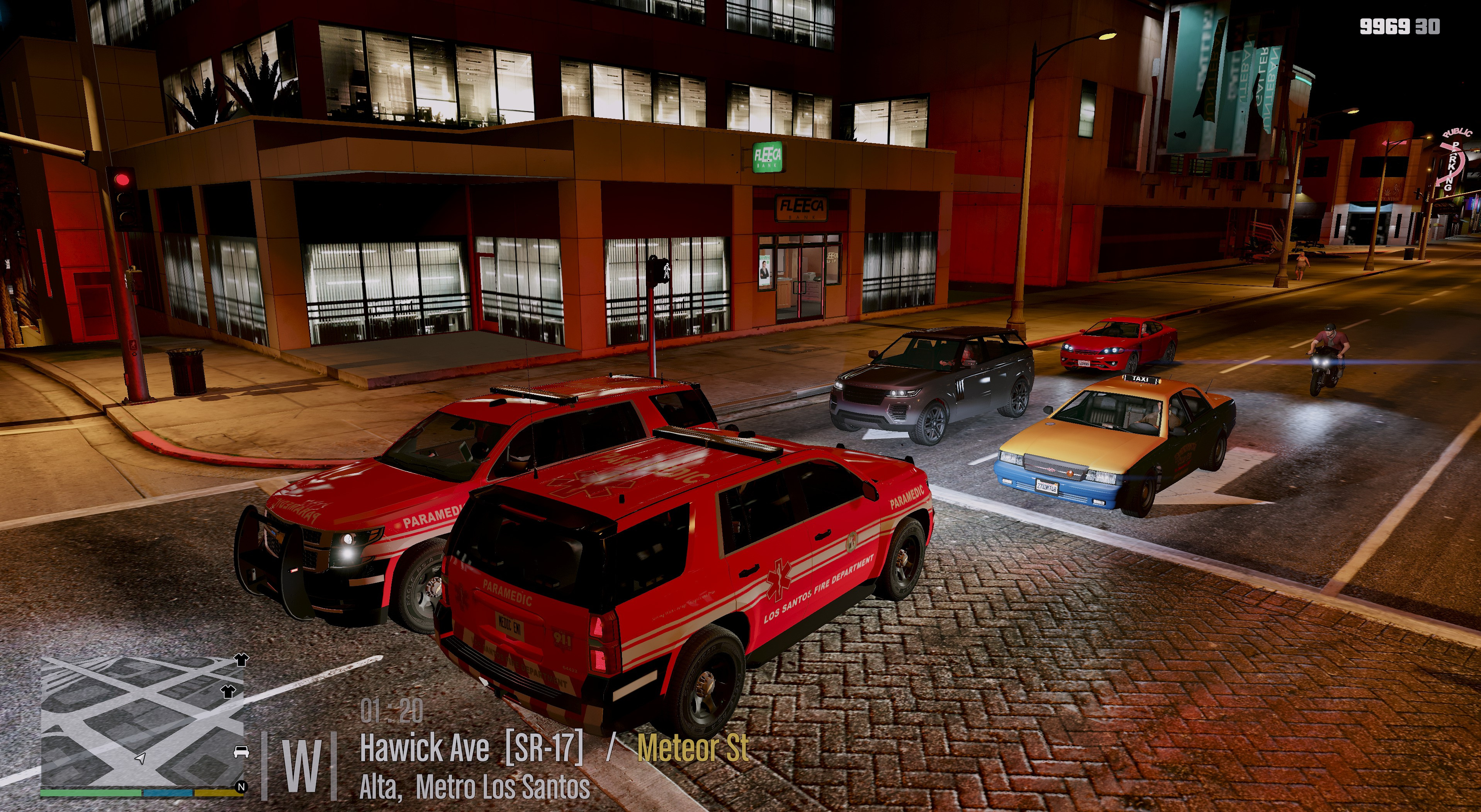 FD/EMS Skin Pack and light conversion for 2015 Tahoe - GTA5