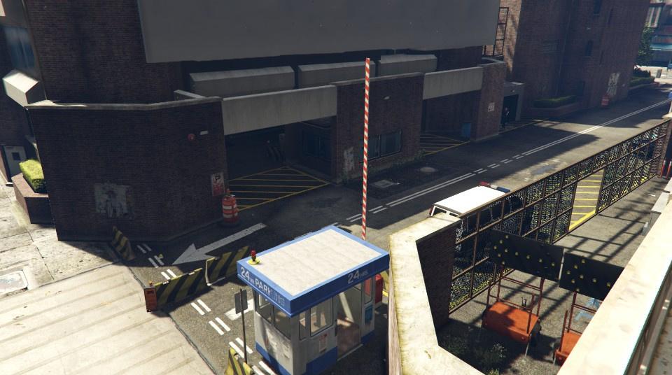 LSPD Mission Row East  GTA5Modscom