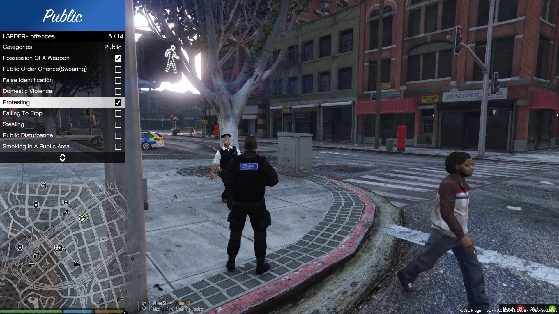 LSPDFR+ British Public Offenses - GTA5-Mods com