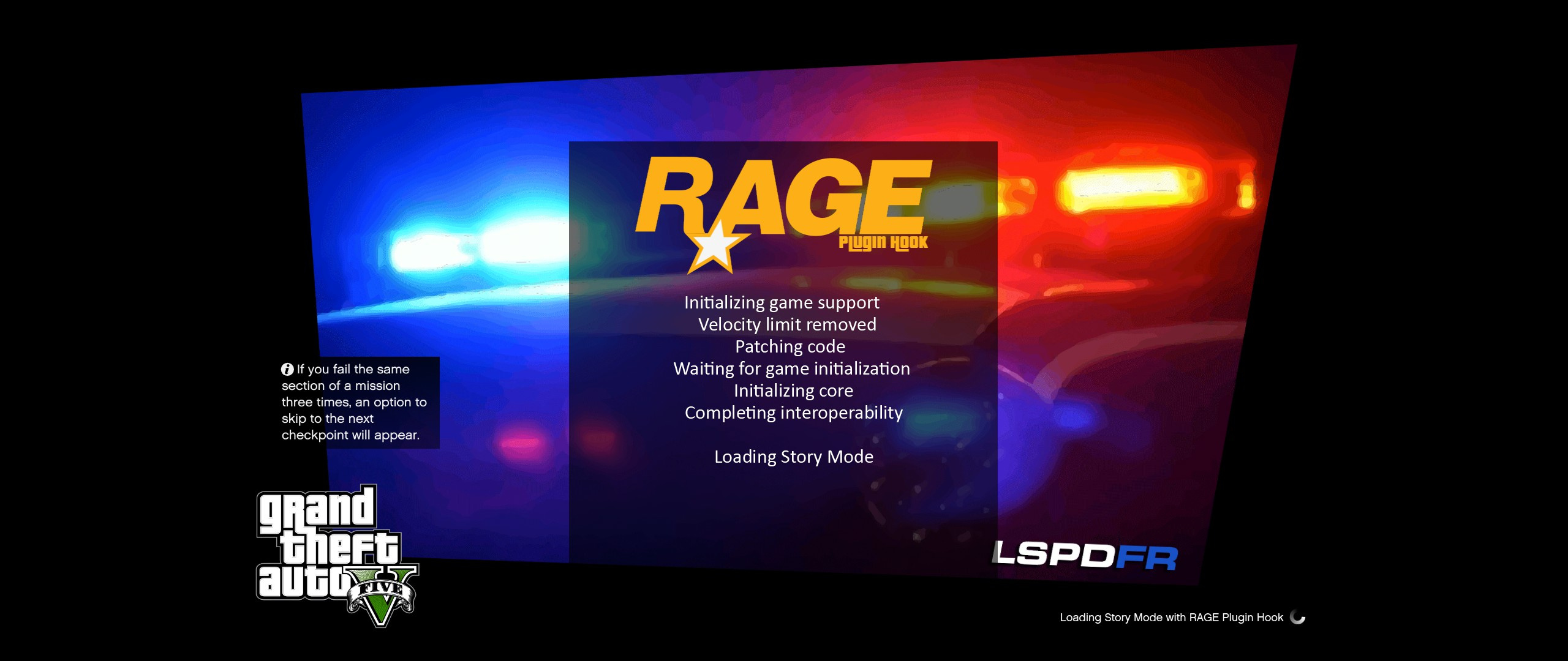 LSPDFR Loadingscreen + Extra - GTA5-Mods com