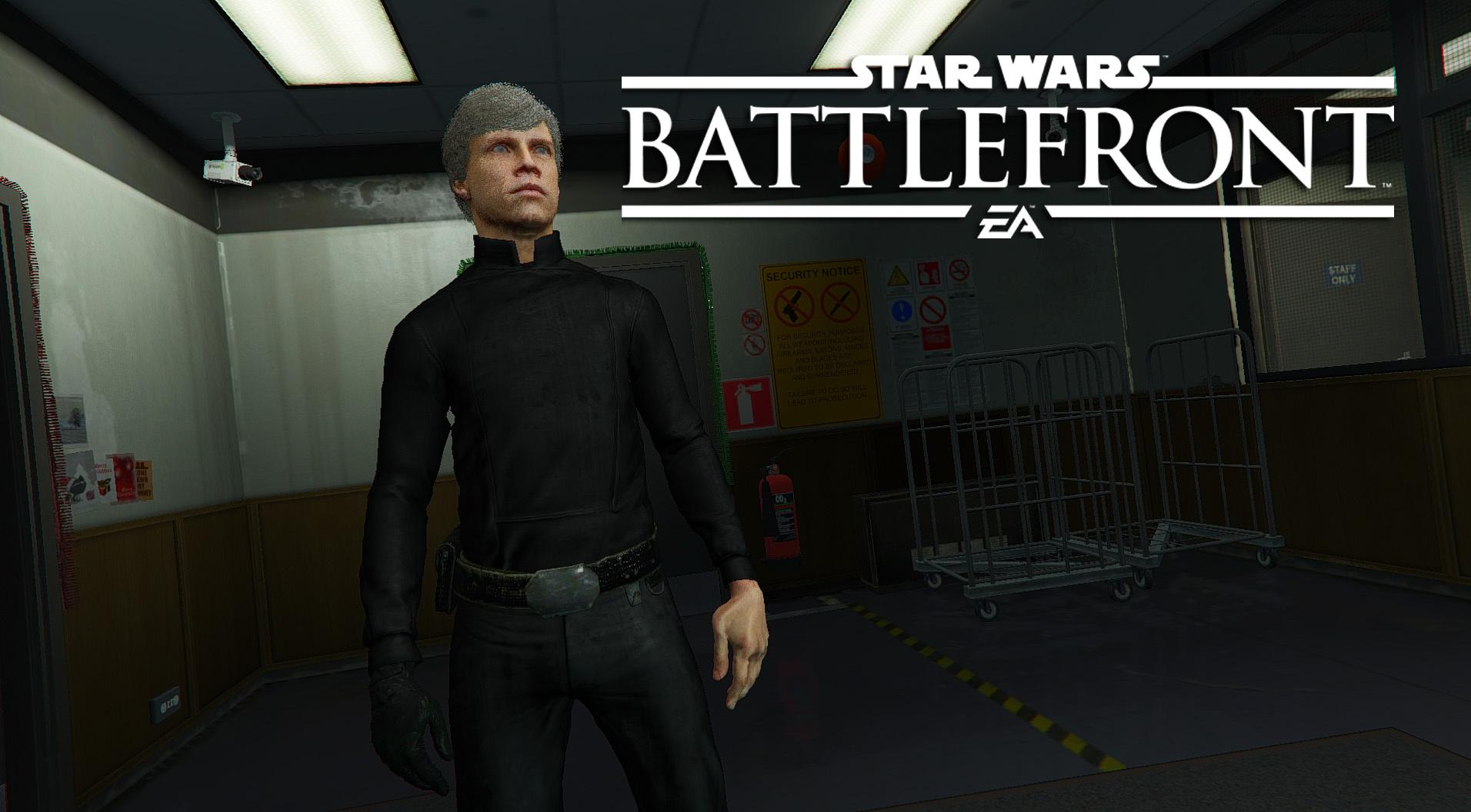 Luke Skywalker Battlefront 4k Dice Add On Gta5 Modscom