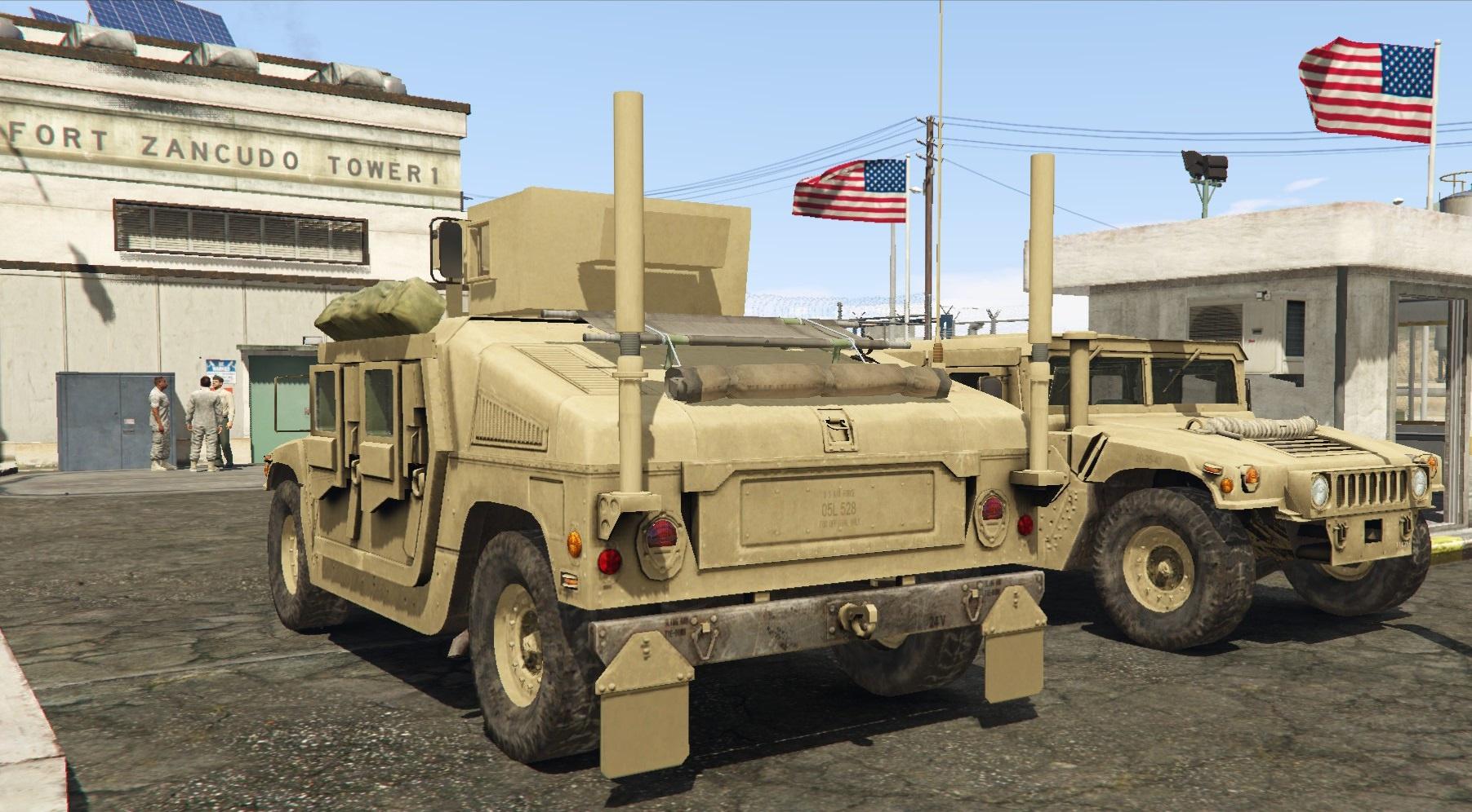 M1116 Humvee Up Armored Gta5 Mods Com