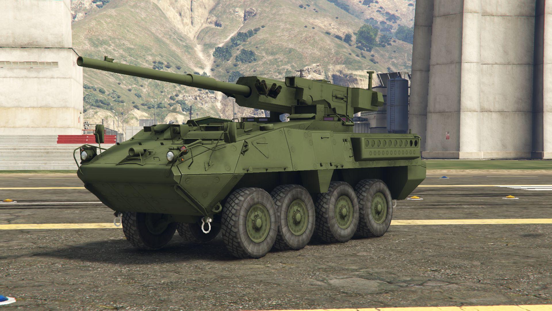 M1128 Stryker - Боевая бронированная машина
