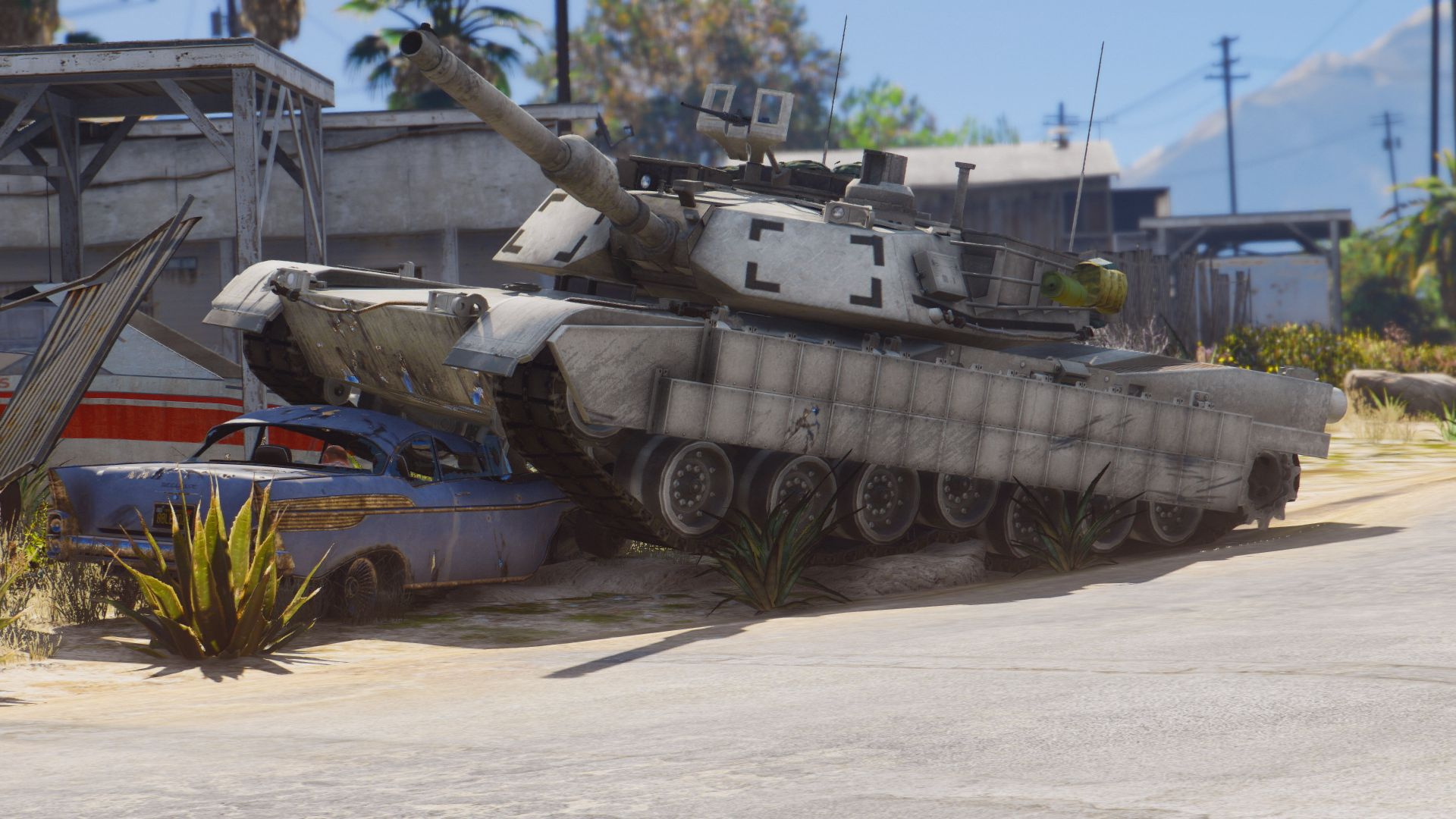 Tank Racing Simulator M1a2 Abrams Vs Leopard T 90 Screenshot 5