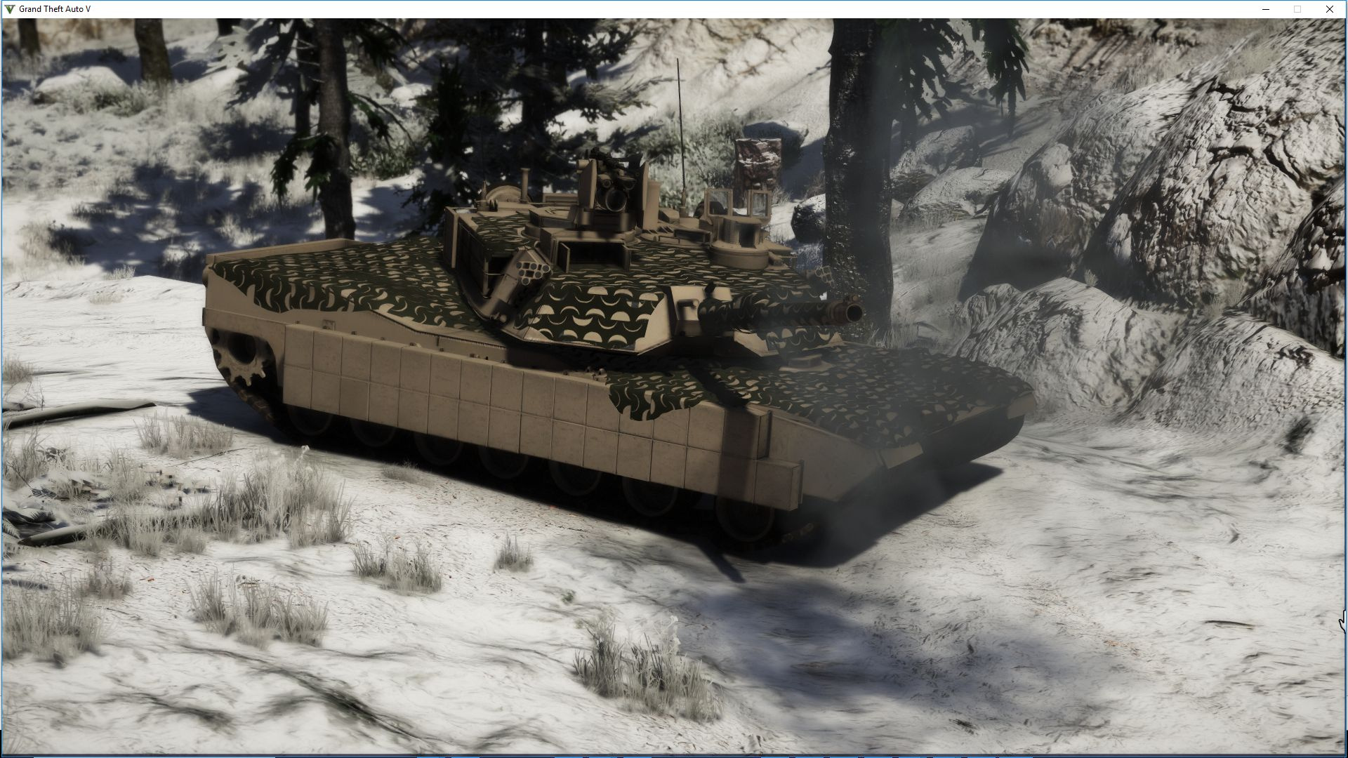 M1A2C Abrams mega pack [Lots of tuning | Add-On] - GTA5 ...
