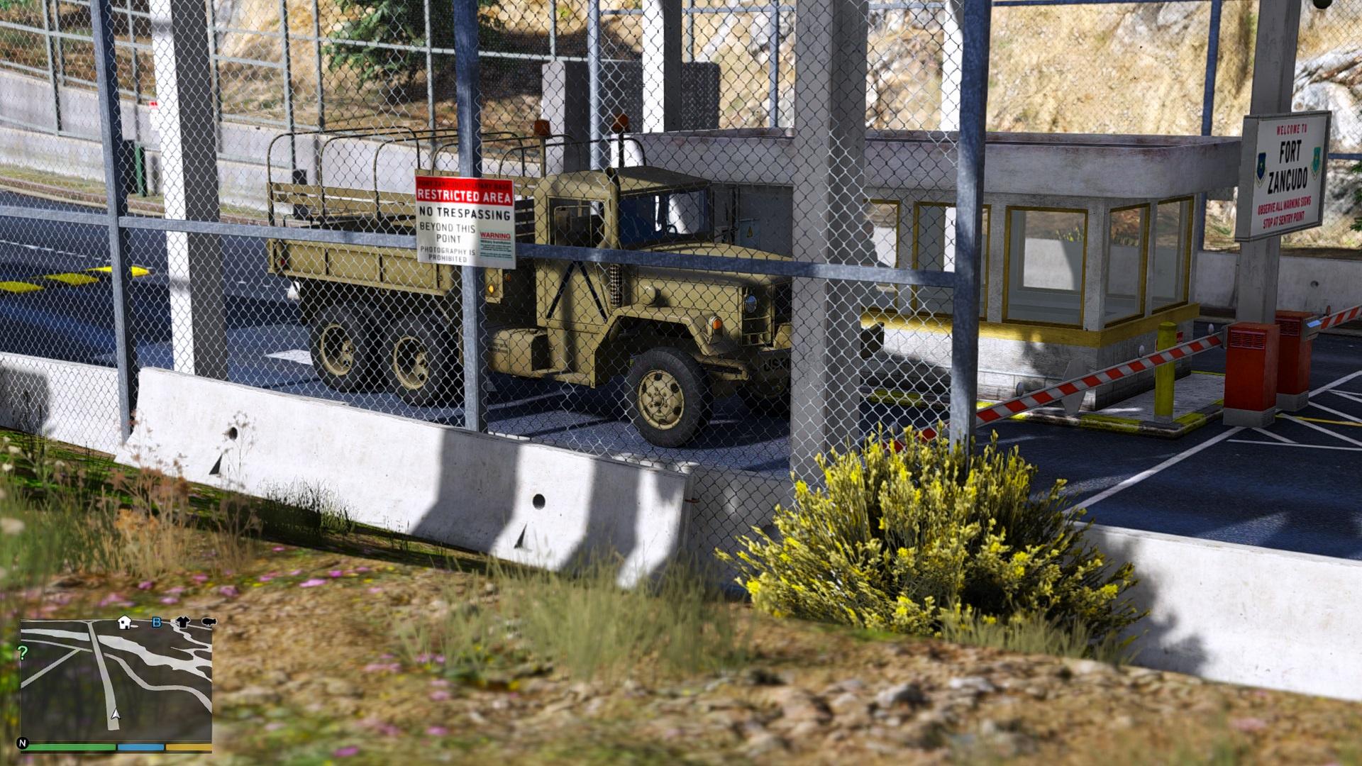 Fort Zancudo US ARMY & USMC M35A2 6x6 2 1/2 Ton Truck