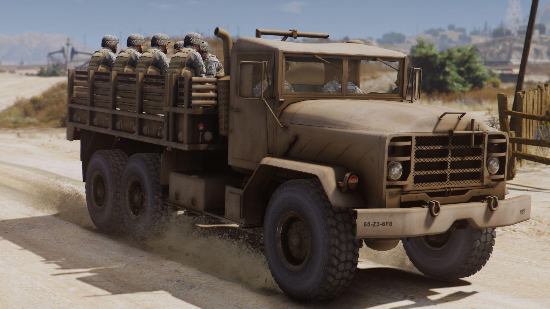 m939 5 ton truck add on gta5. Black Bedroom Furniture Sets. Home Design Ideas