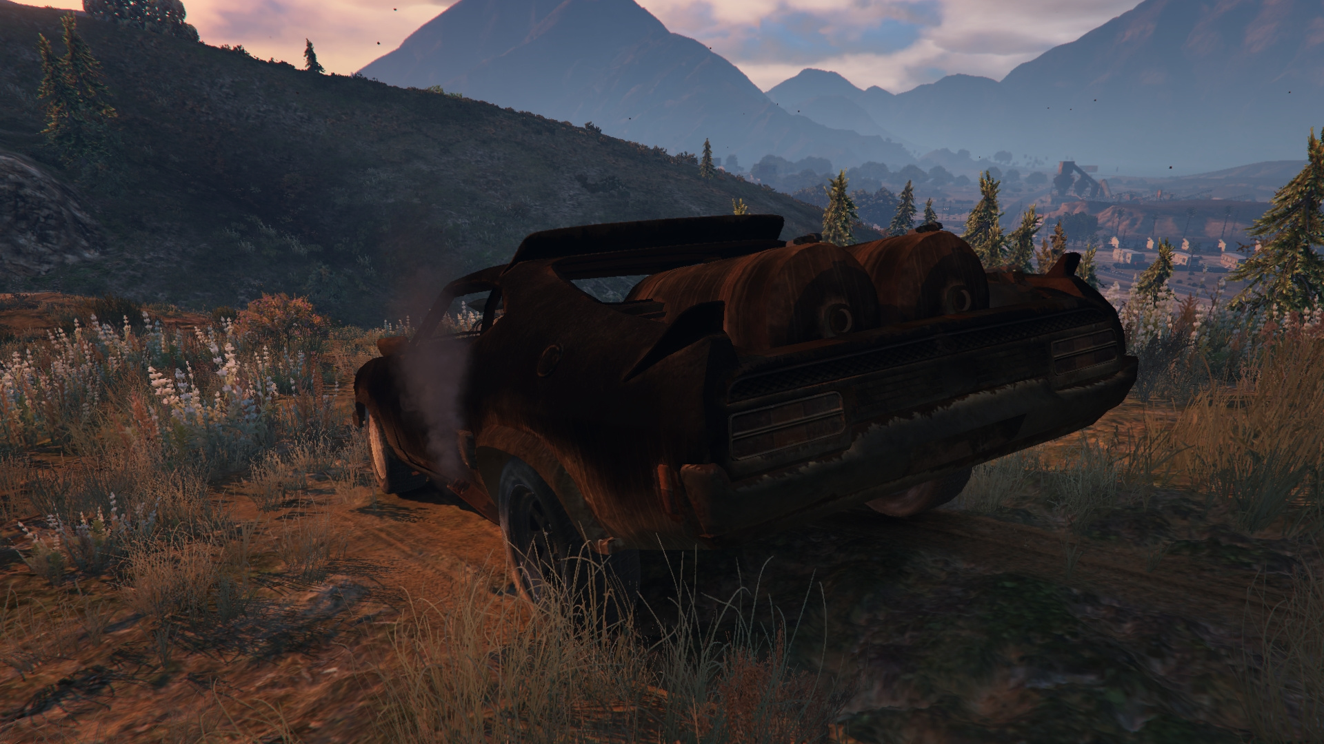 Mad Max Interceptor Gta5 Mods Com