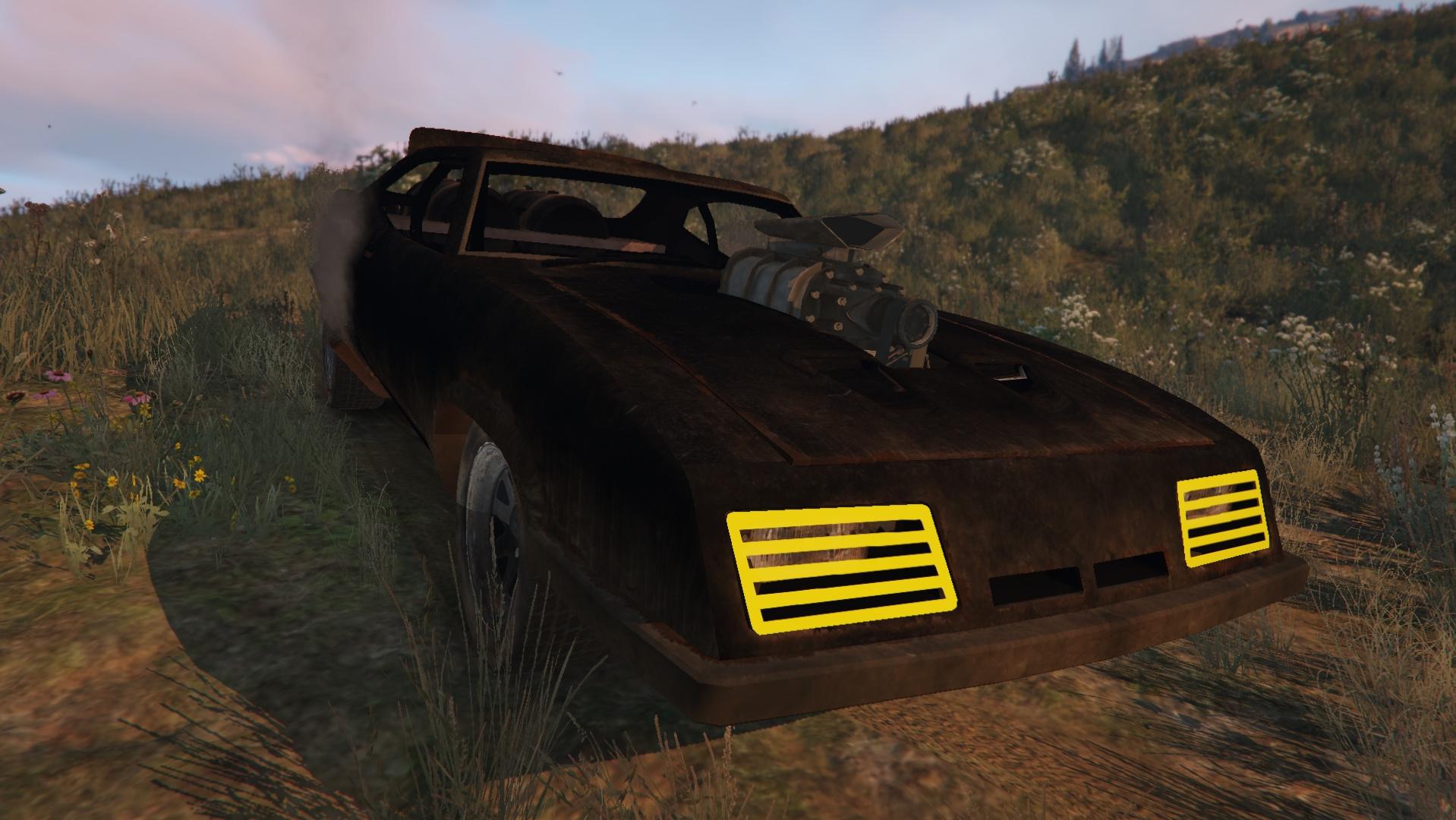 Mad Max Interceptor Gta5 Mods Com