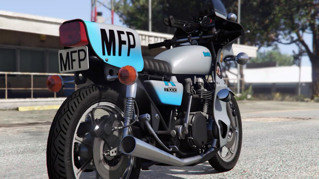 Mad Max Jim Goose Bike Add On Gta5