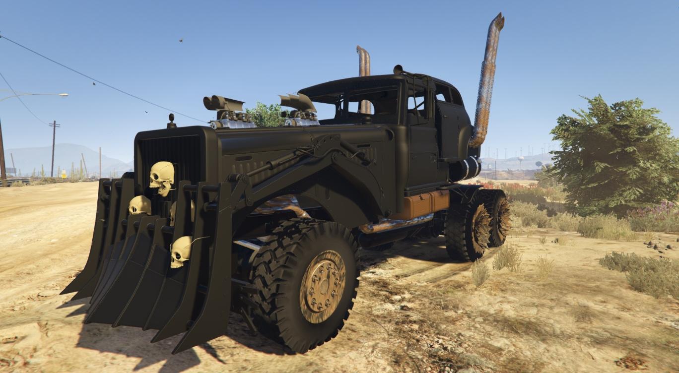 Mad Max: The War Rig - GTA5-Mods.com