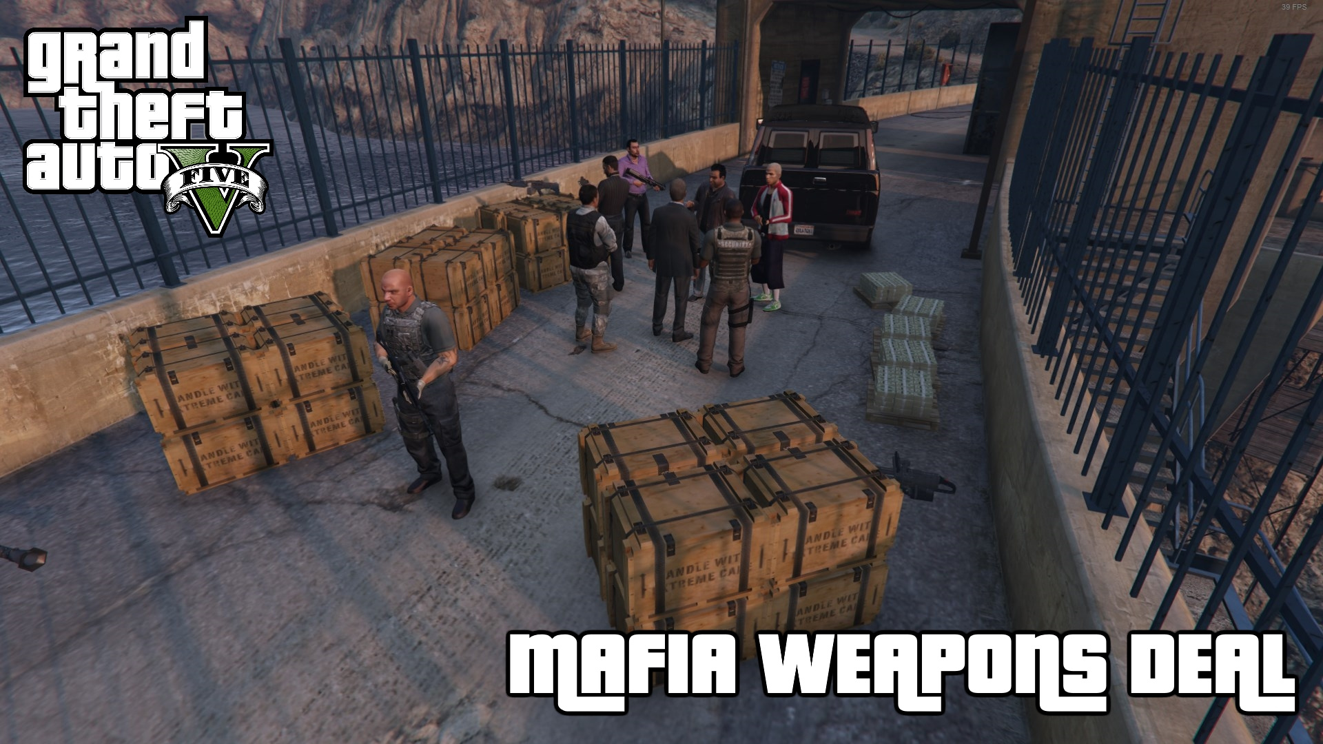 Mafia merryweather dam weapons deal map editor download