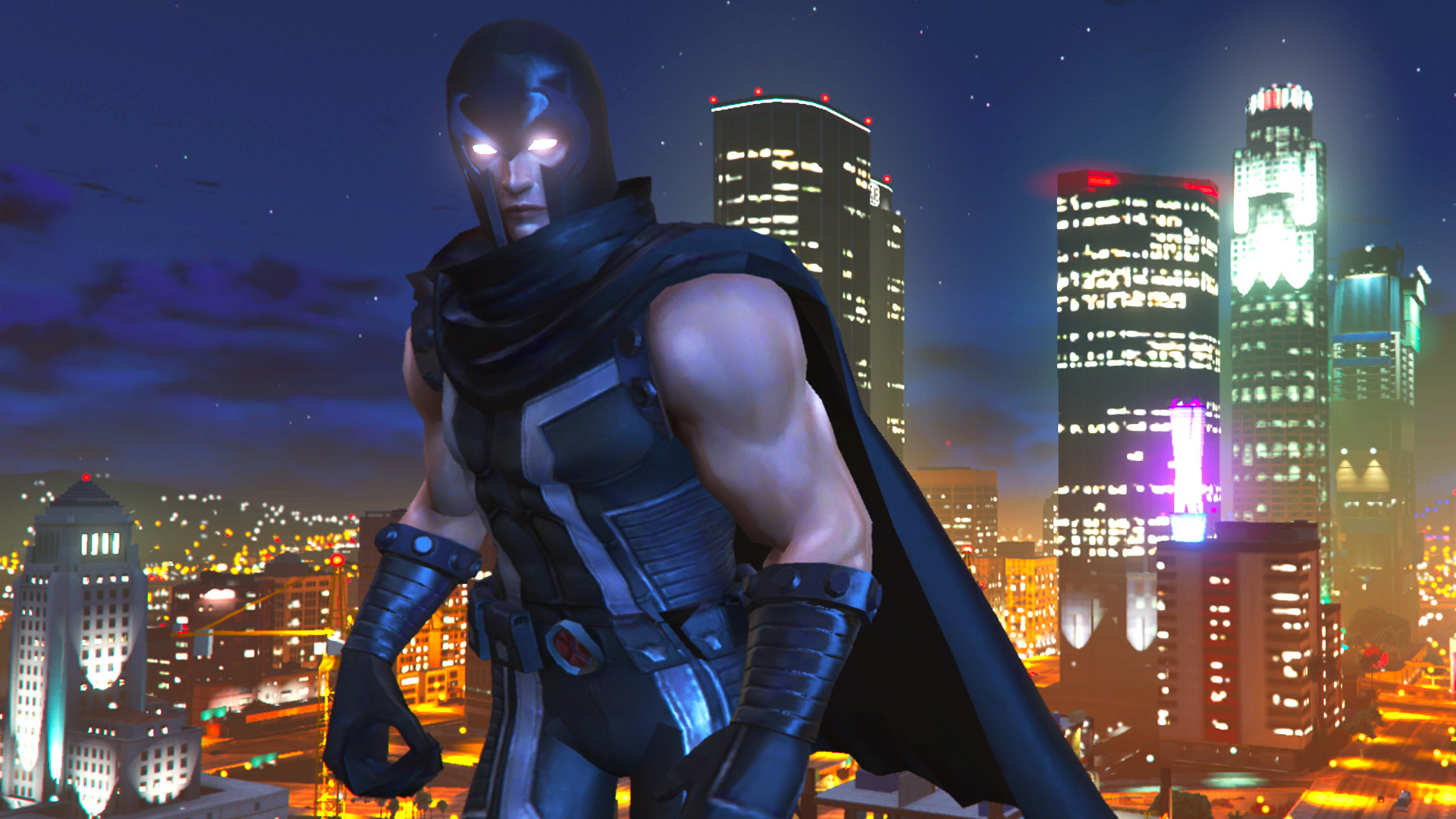 Magneto (Marvel Now) [Add-On Ped with Emissive eyes] - GTA5-Mods com