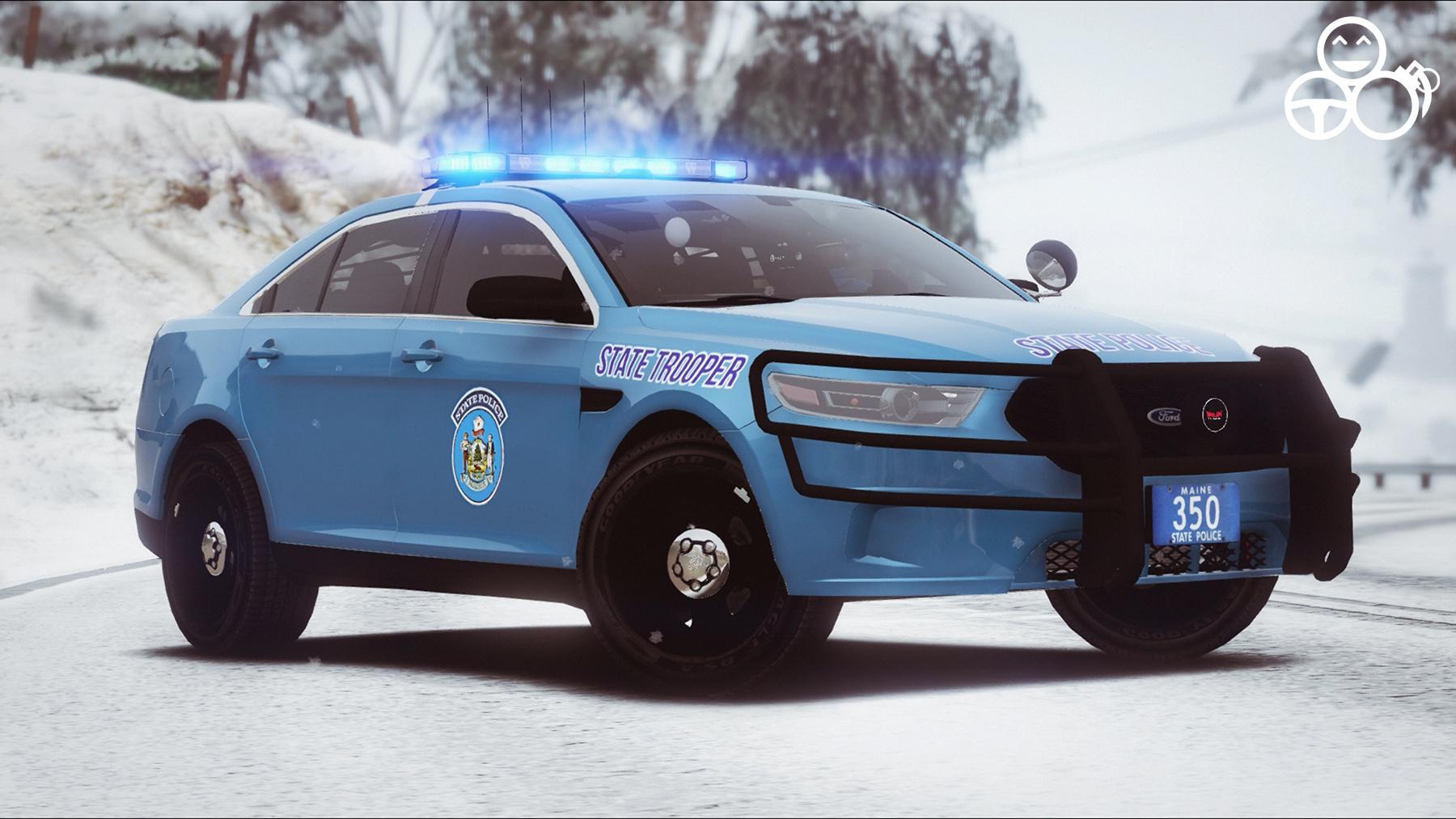Maine State Police - Taurus and Ped Skin - GTA5-Mods.com