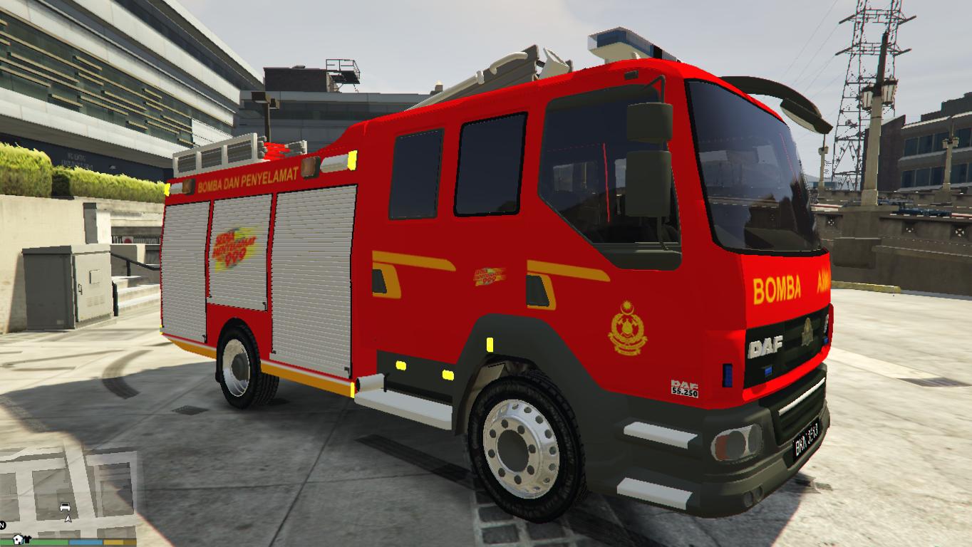Malaysia Bomba Fire Amp Rescue Truck DAF LF