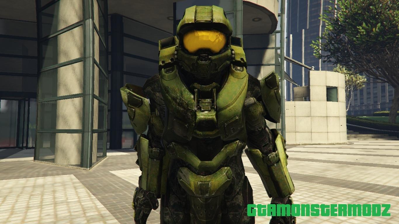 Master Chief Halo 4 Gta5 Mods Com