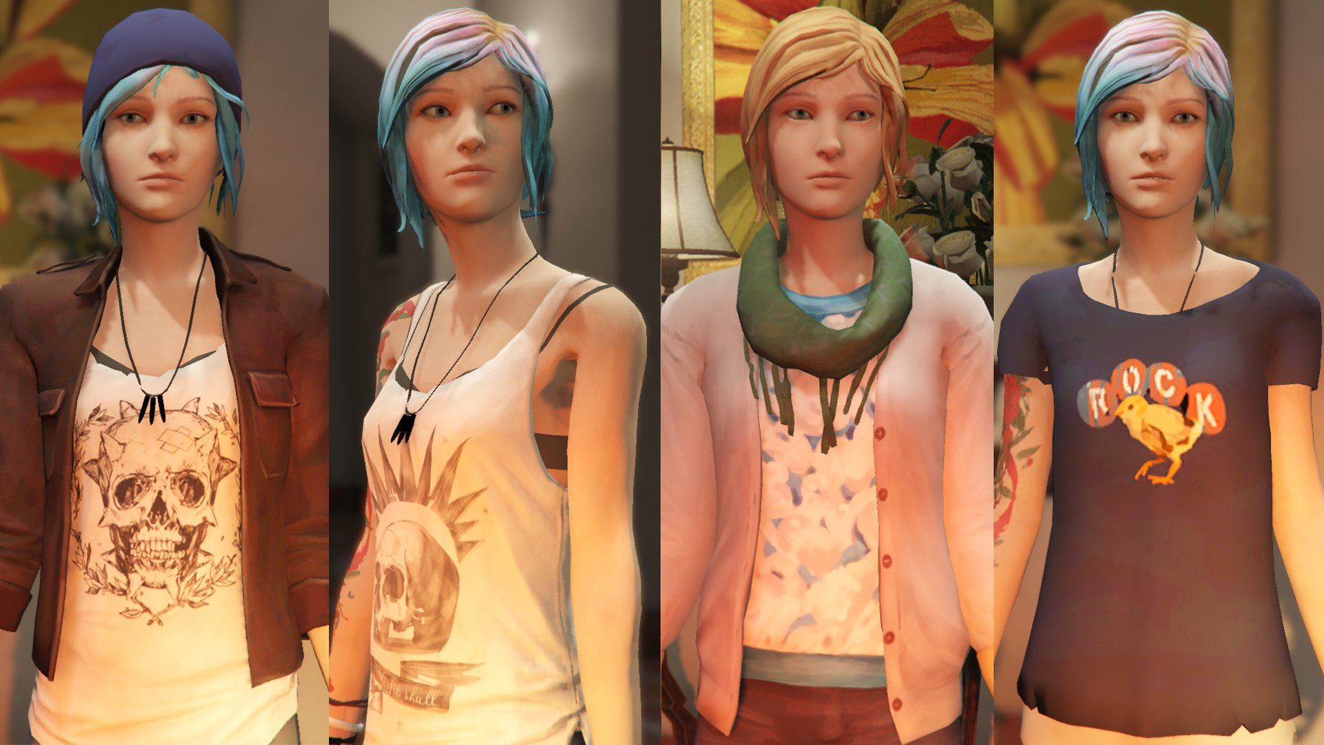 Max Caulfield & Chloe Price Life is Strange [Add-On Ped