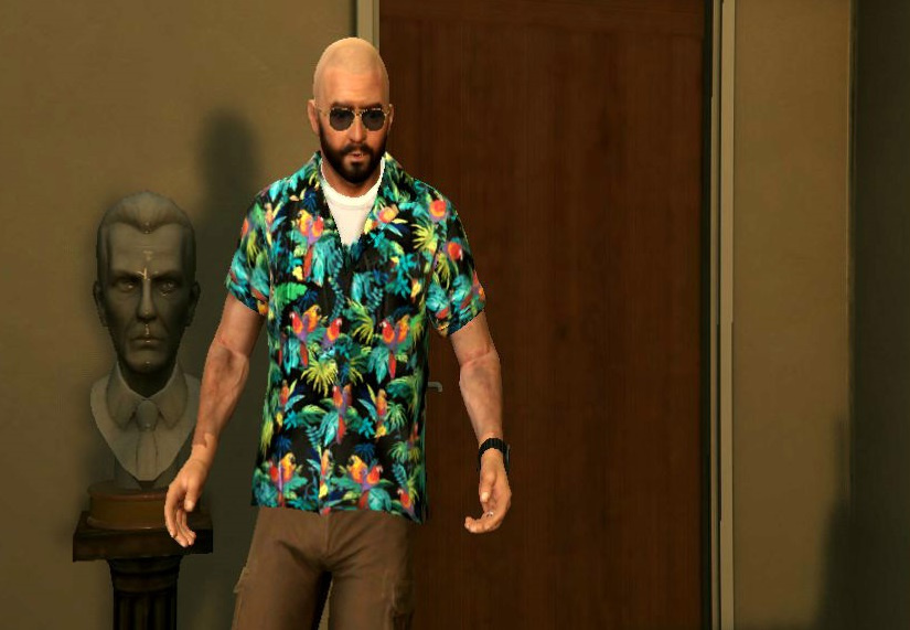 max payne bald beard